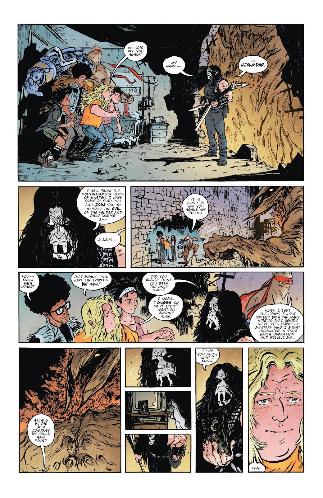 Read online Murder Falcon comic -  Issue #6 - 3