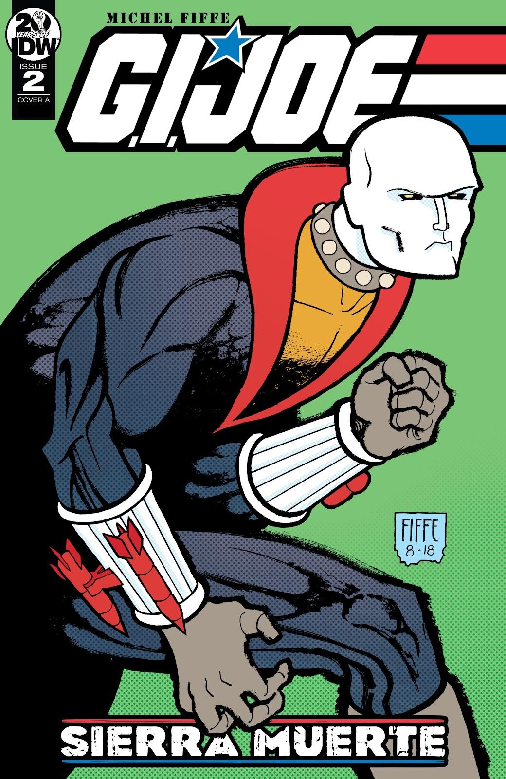 Read online G.I. Joe: Sierra Muerte comic -  Issue #2 - 1