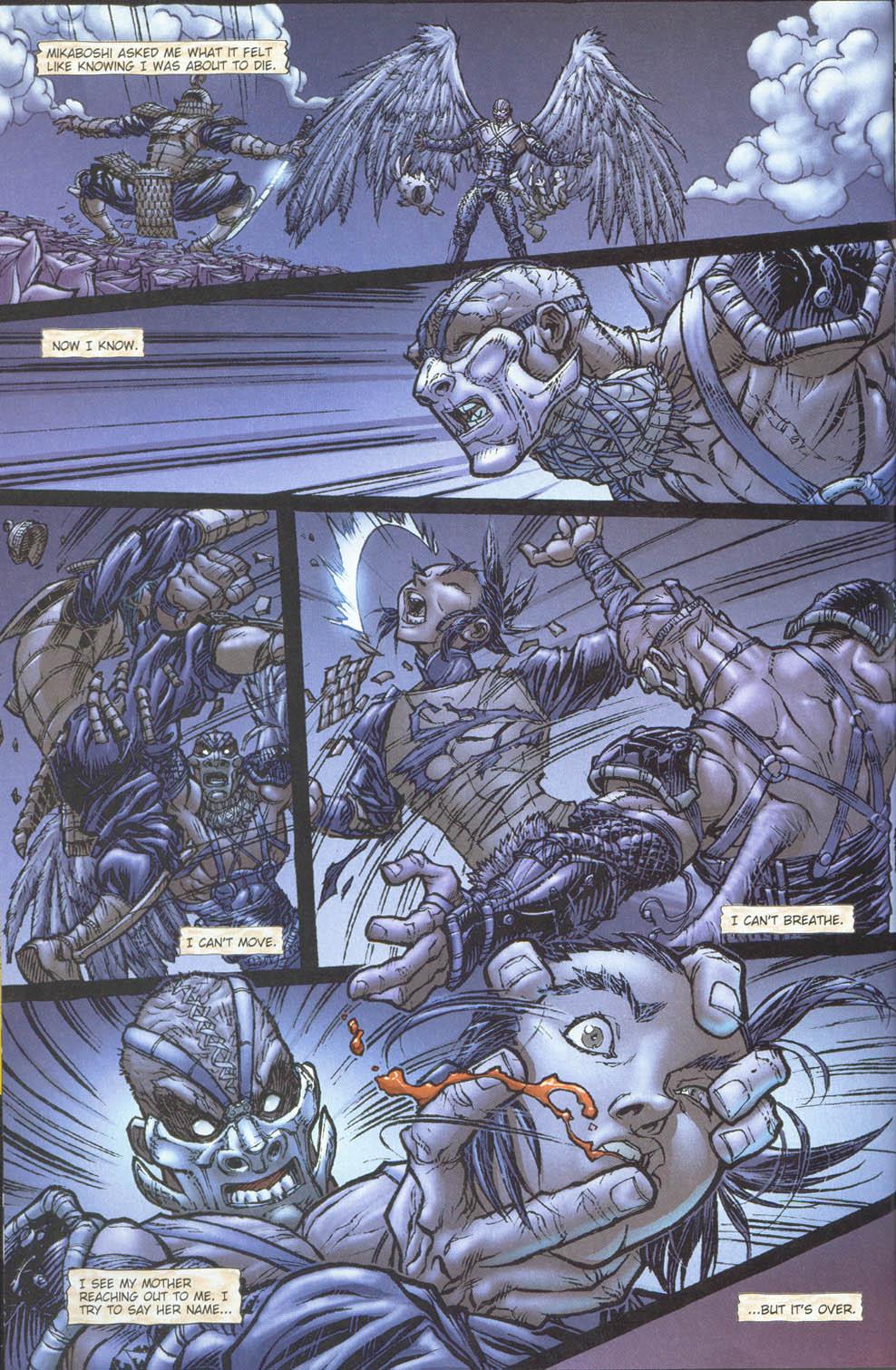 Read online Ninja Boy comic -  Issue #5 - 6