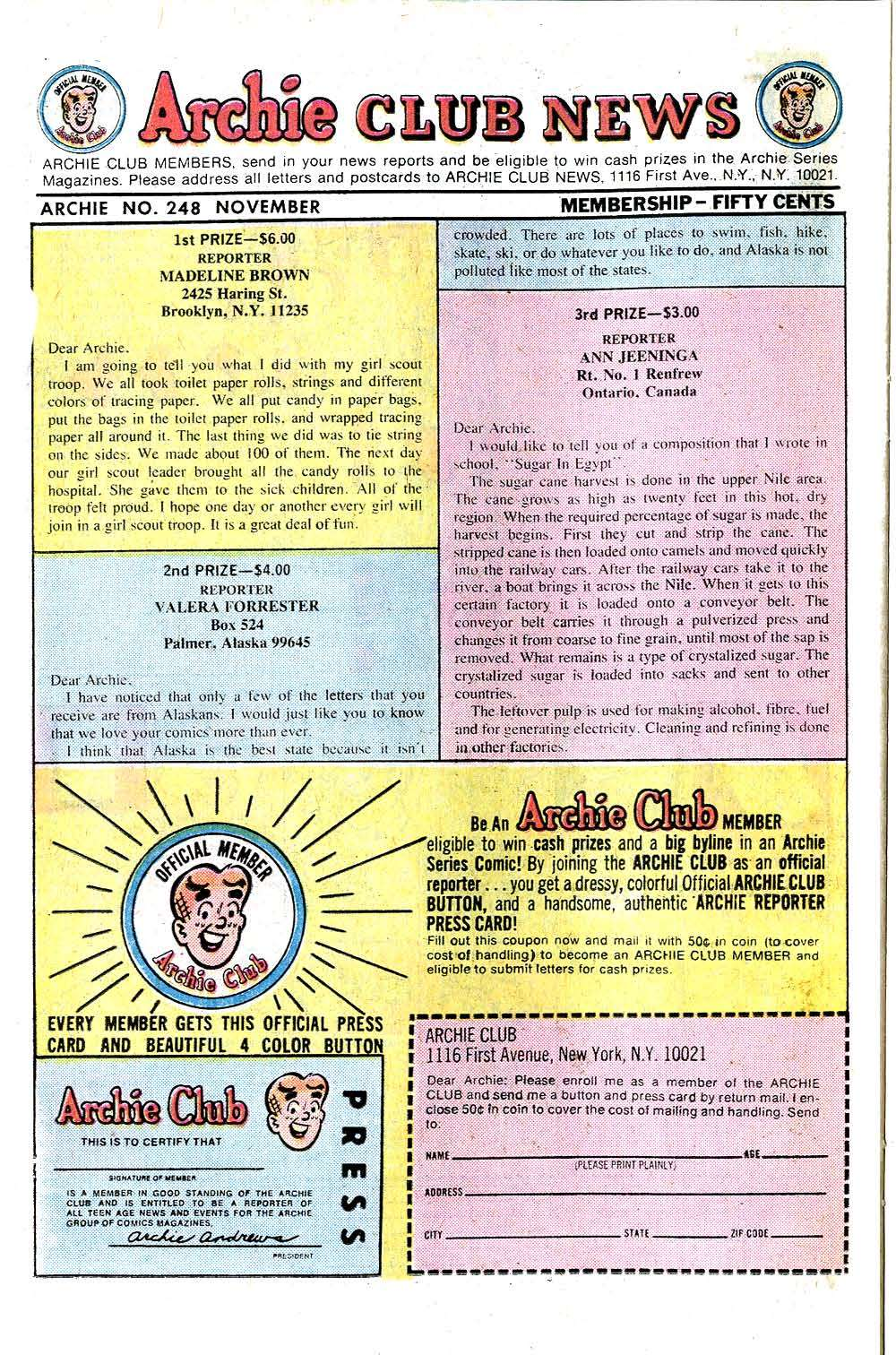 Read online Archie (1960) comic -  Issue #248 - 26