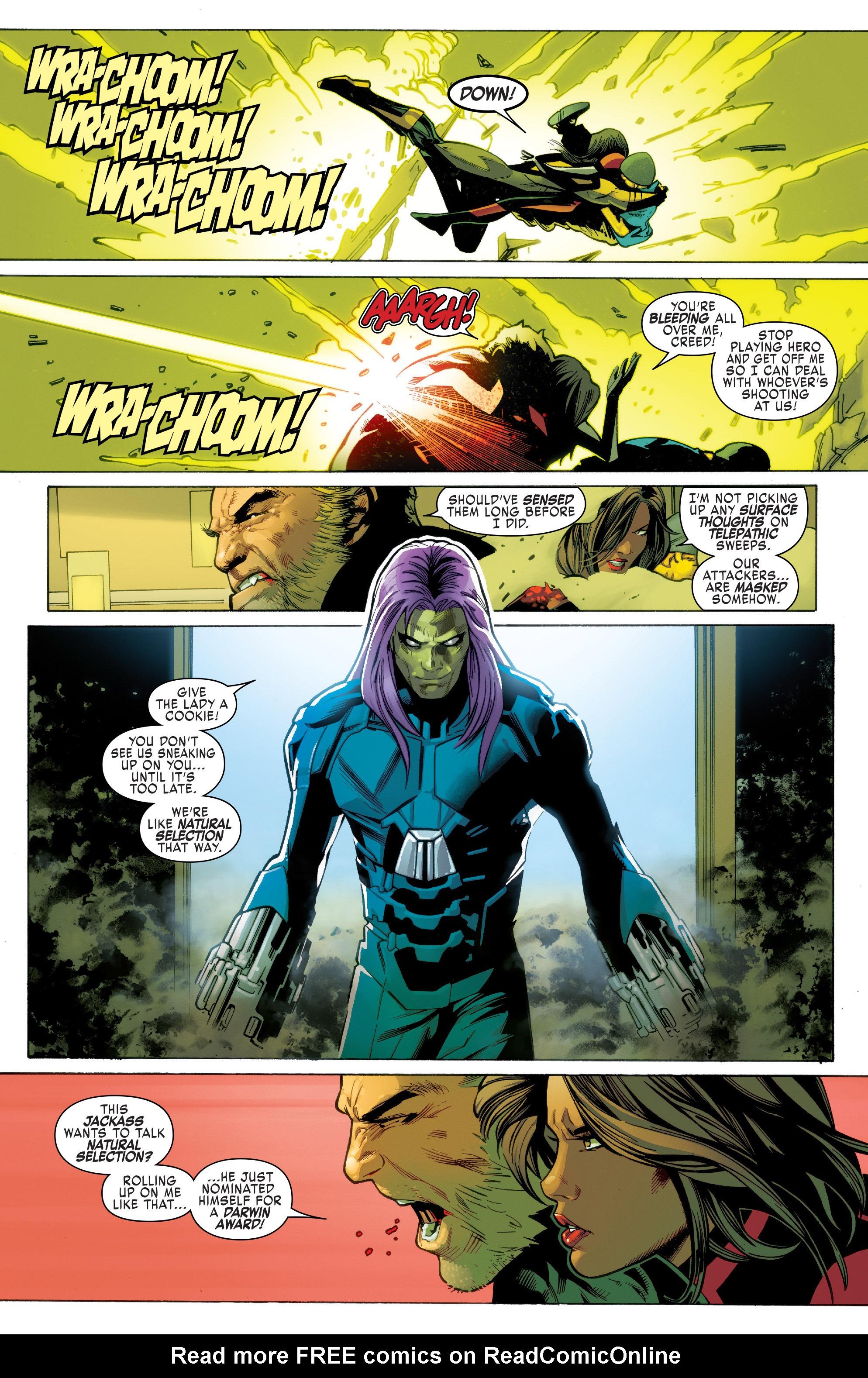 Read online Uncanny X-Men (2016) comic -  Issue #2 - 16