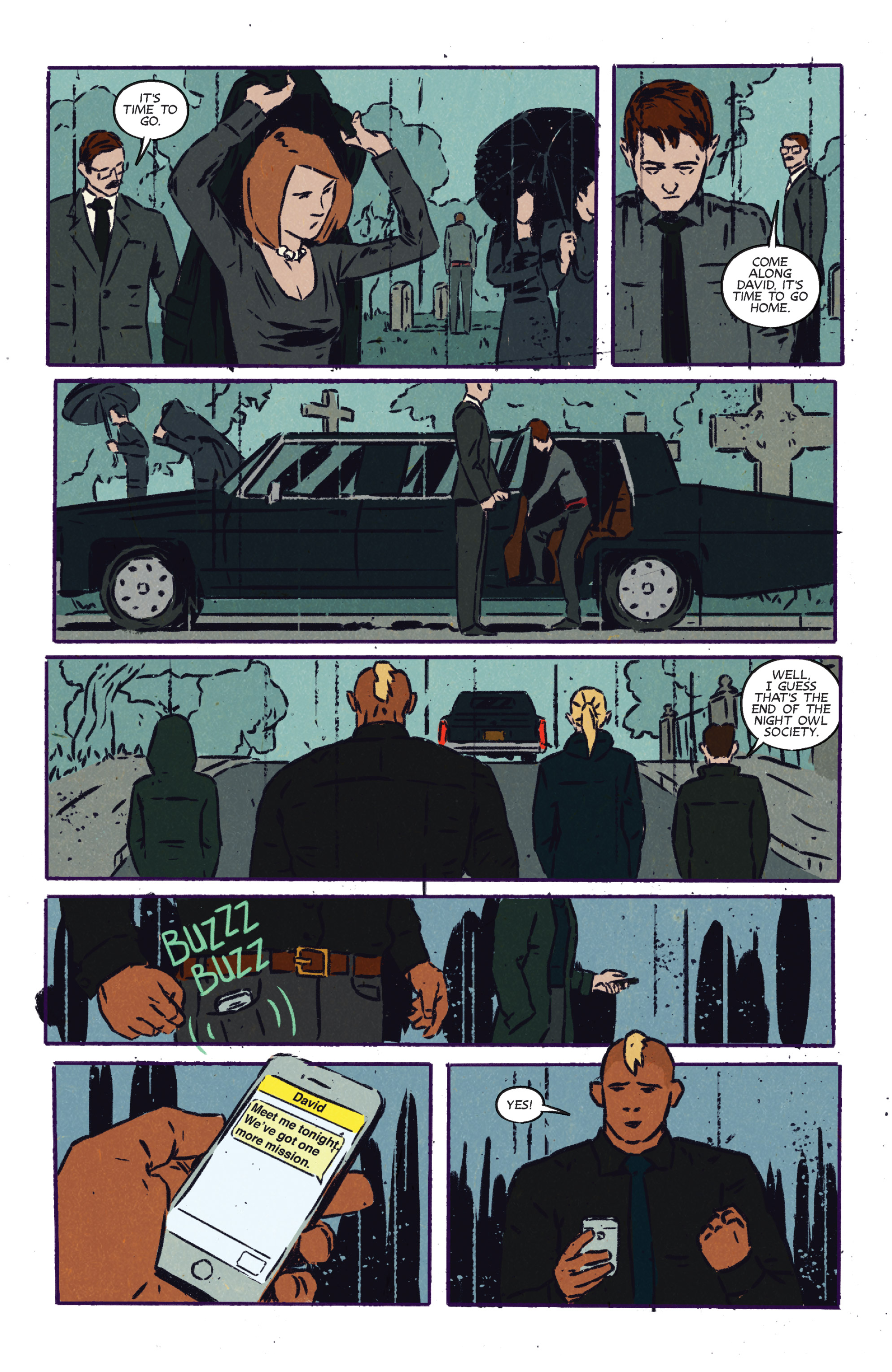 Read online Night Owl Society comic -  Issue #3 - 25
