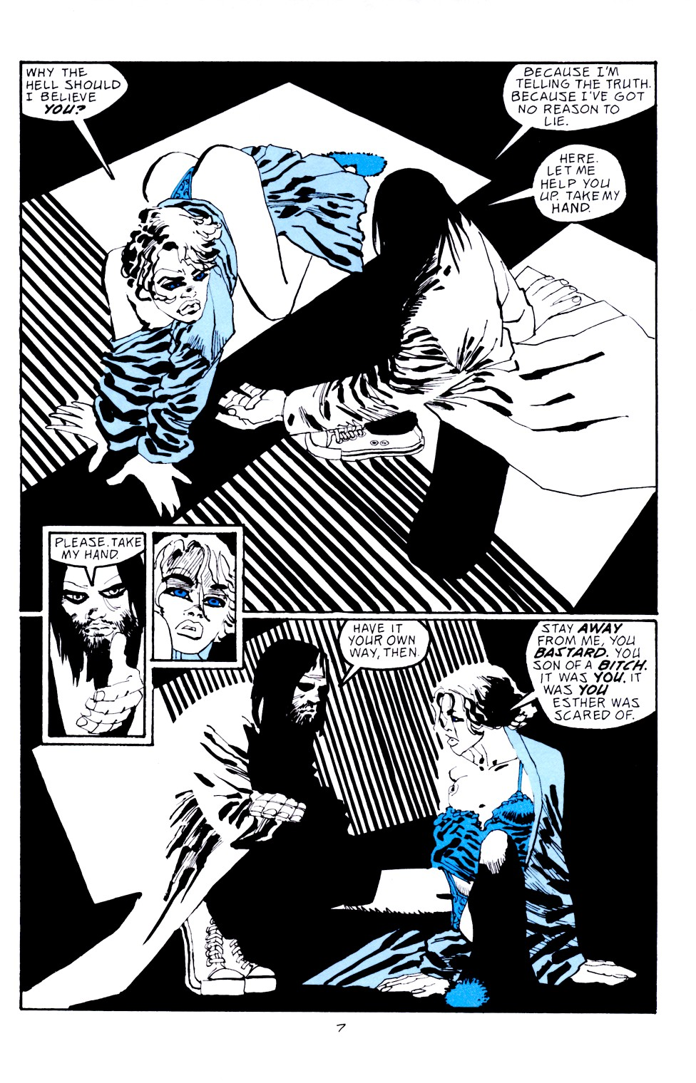 Read online Sin City: Hell and Back comic -  Issue #4 - 8