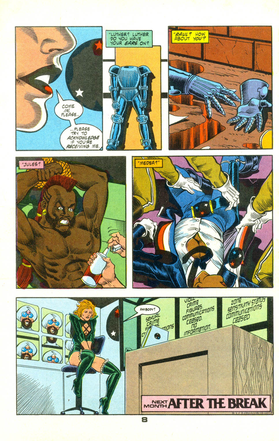 Read online American Flagg! comic -  Issue #25 - 31