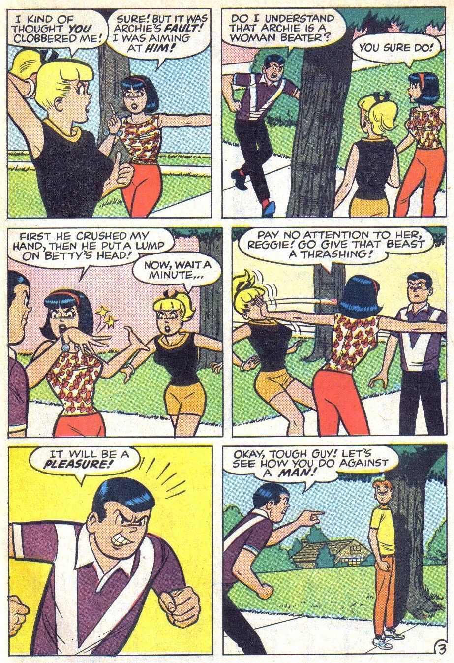 Read online Archie (1960) comic -  Issue #166 - 26