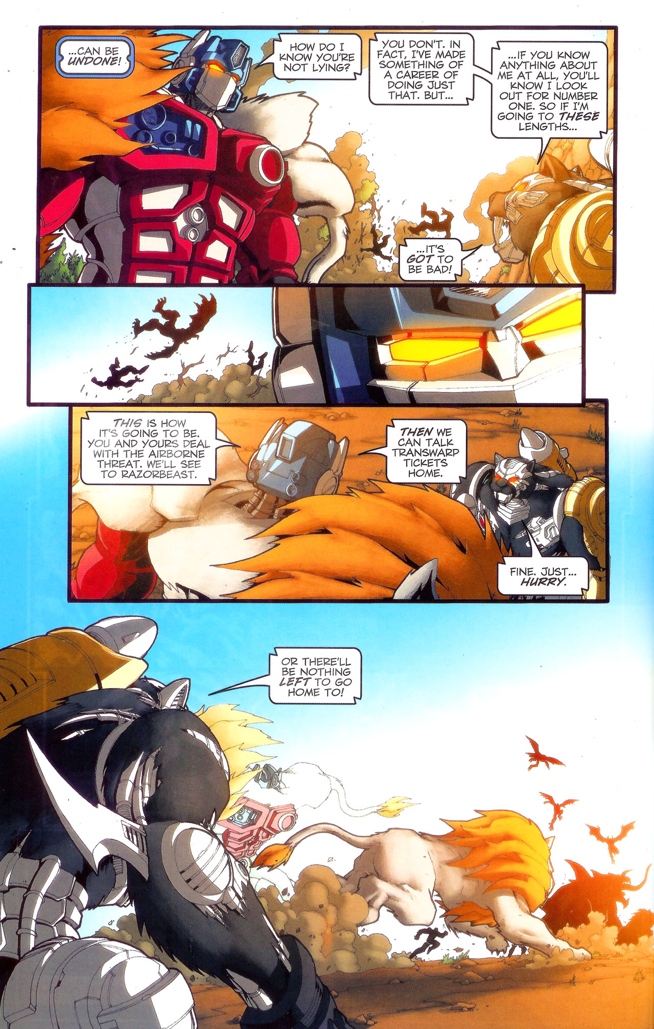 Read online Transformers: Beast Wars: The Ascending comic -  Issue #3 - 13