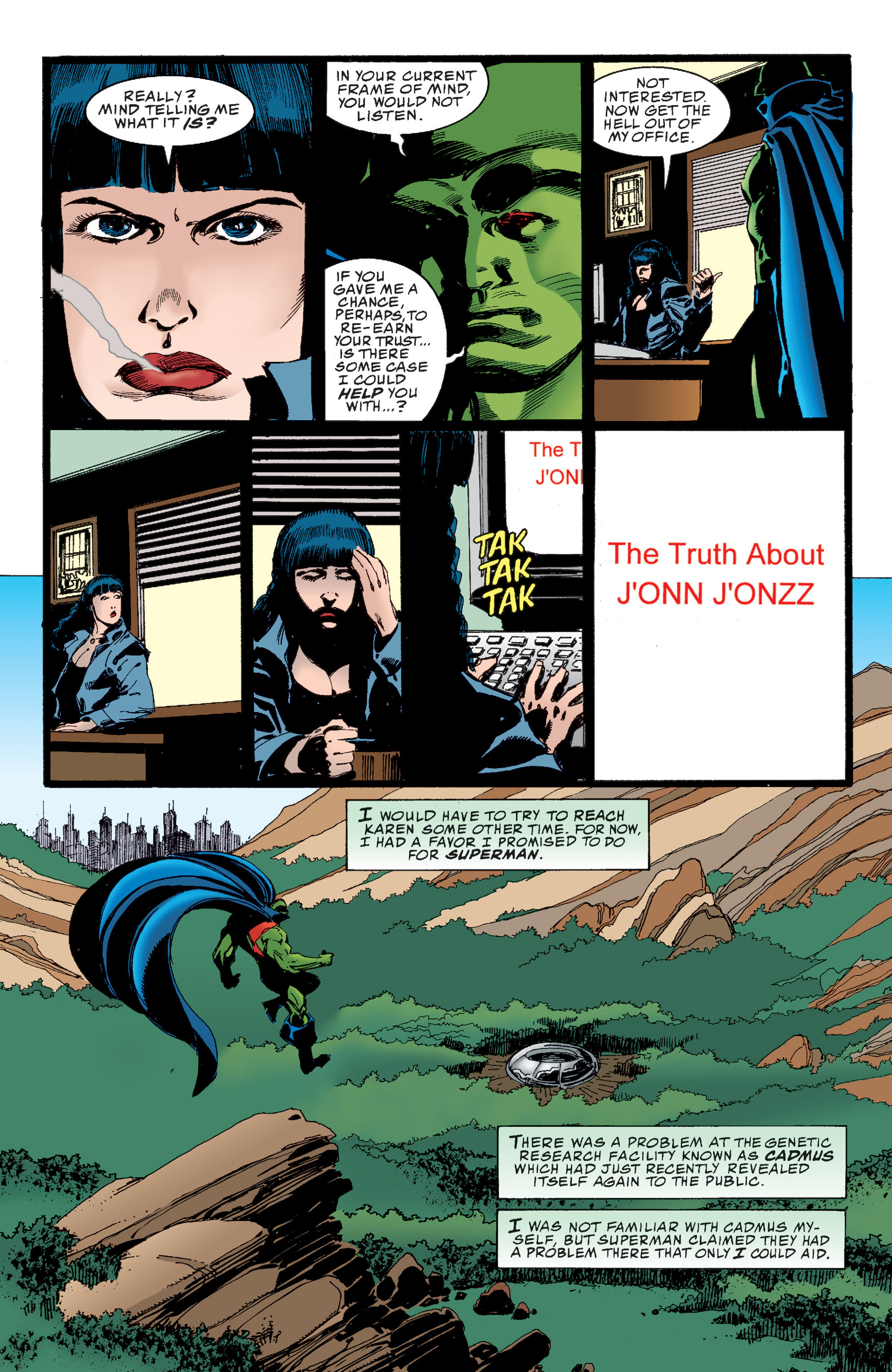Read online Martian Manhunter: Son of Mars comic -  Issue # TPB - 84