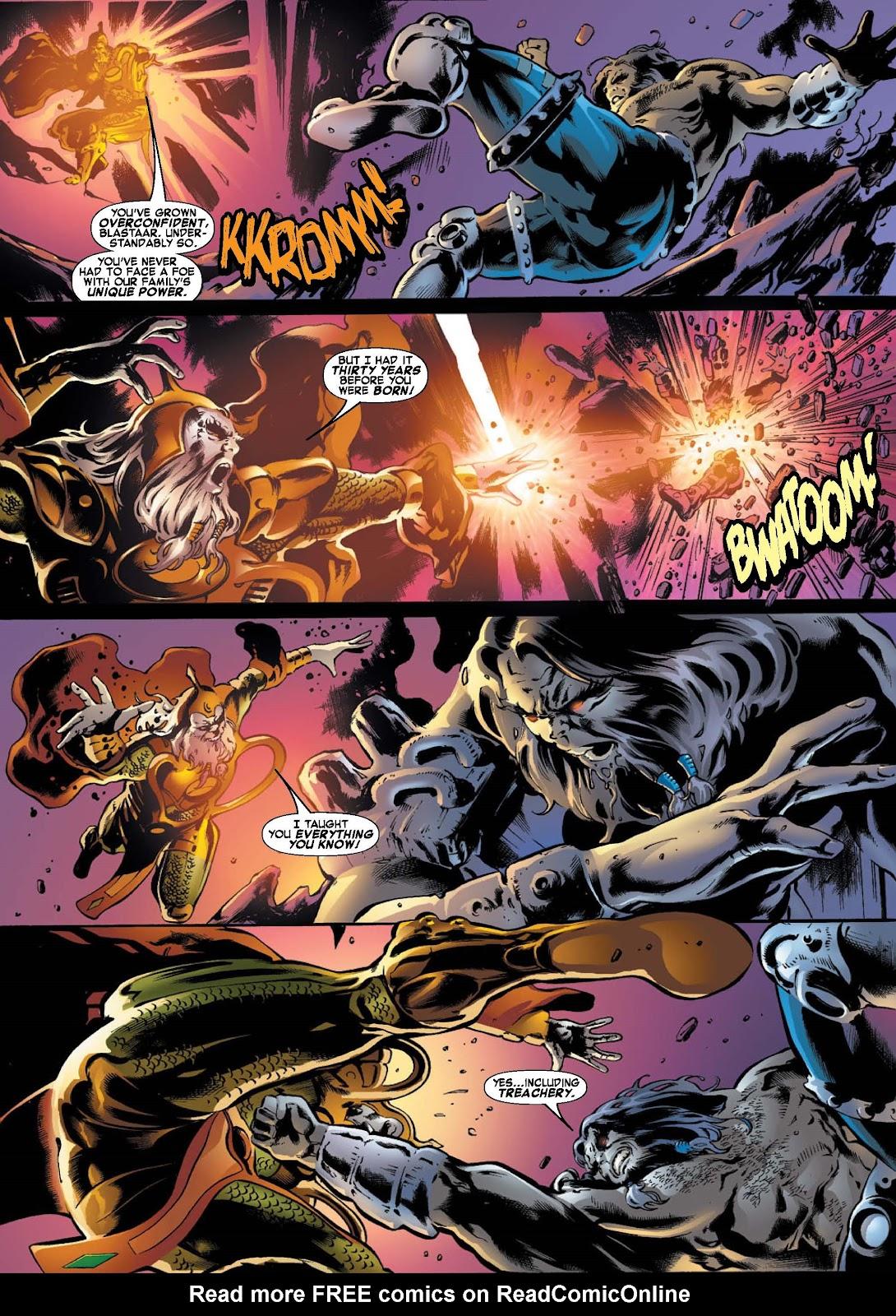 War of Kings: Warriors - Blastaar Issue #2 #2 - English 3