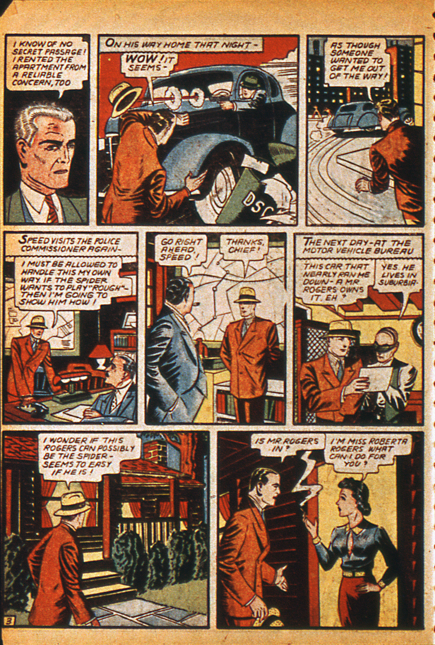 Read online Detective Comics (1937) comic -  Issue #36 - 38