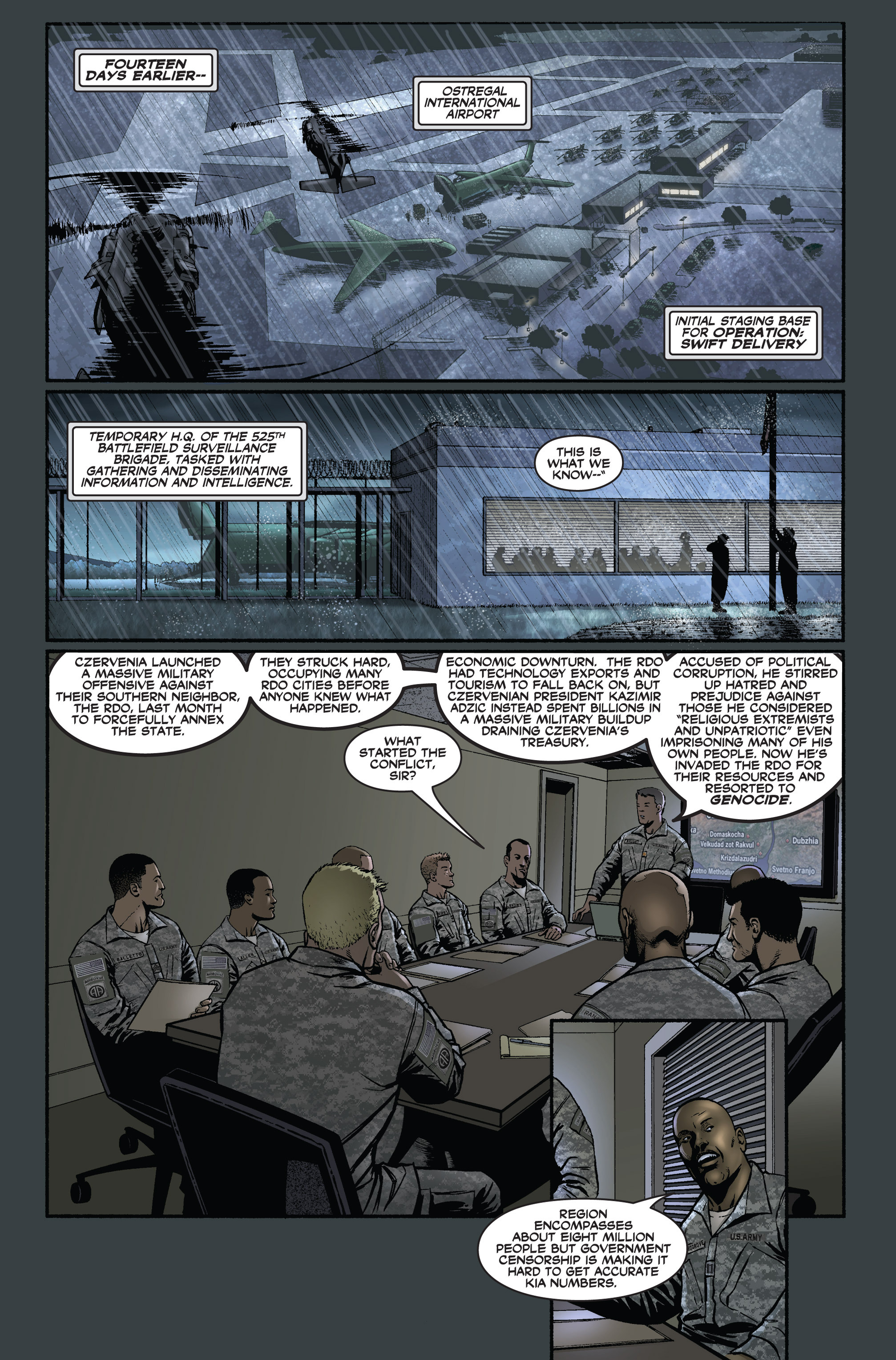 Read online America's Army comic -  Issue #1 - 5