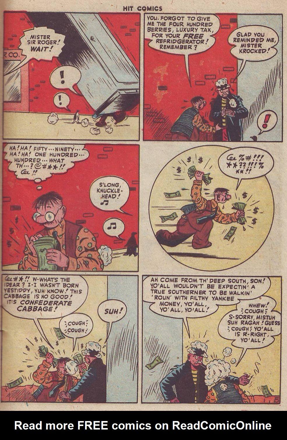 Read online Hit Comics comic -  Issue #51 - 43