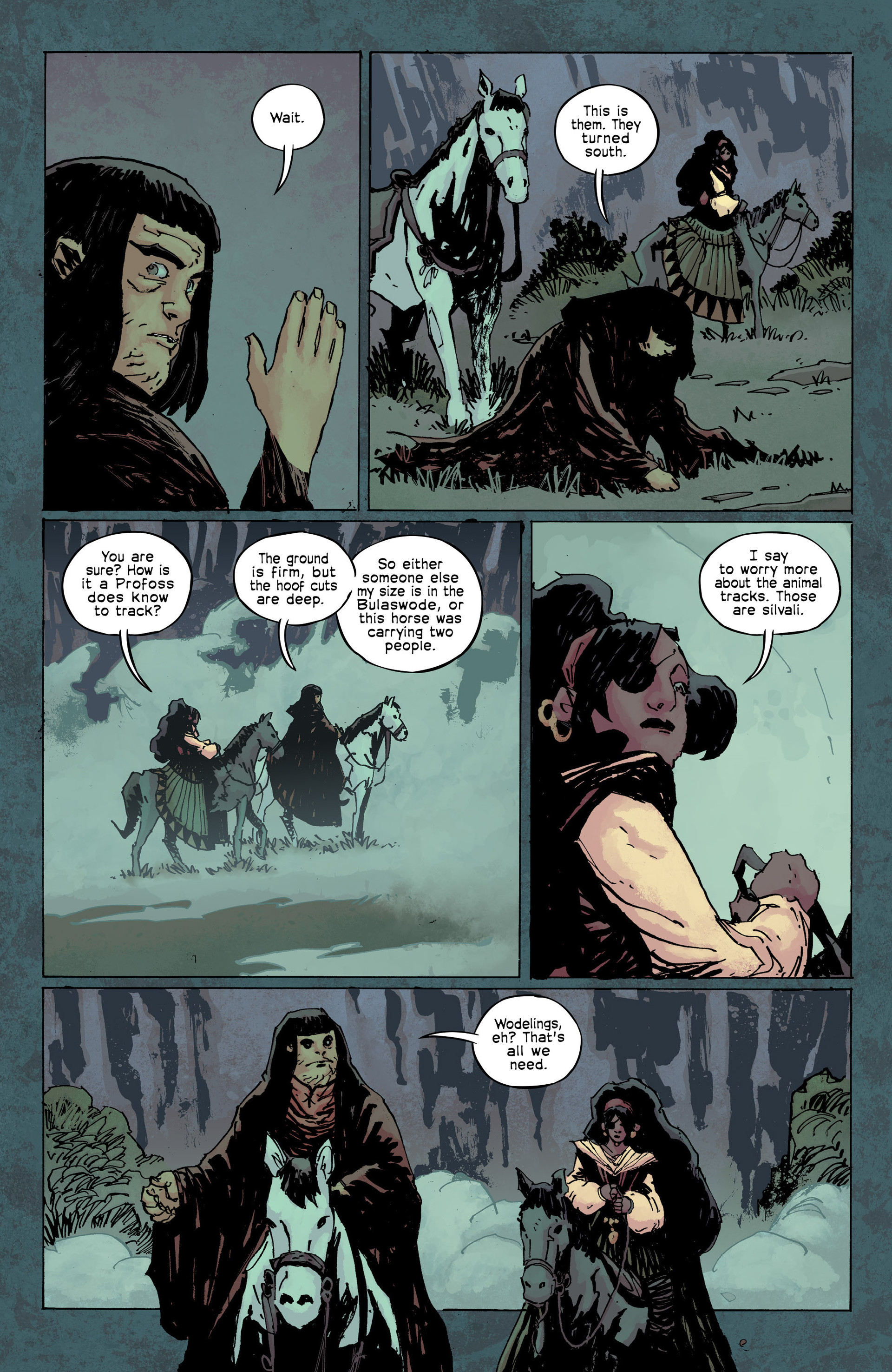 Read online Umbral comic -  Issue #9 - 15