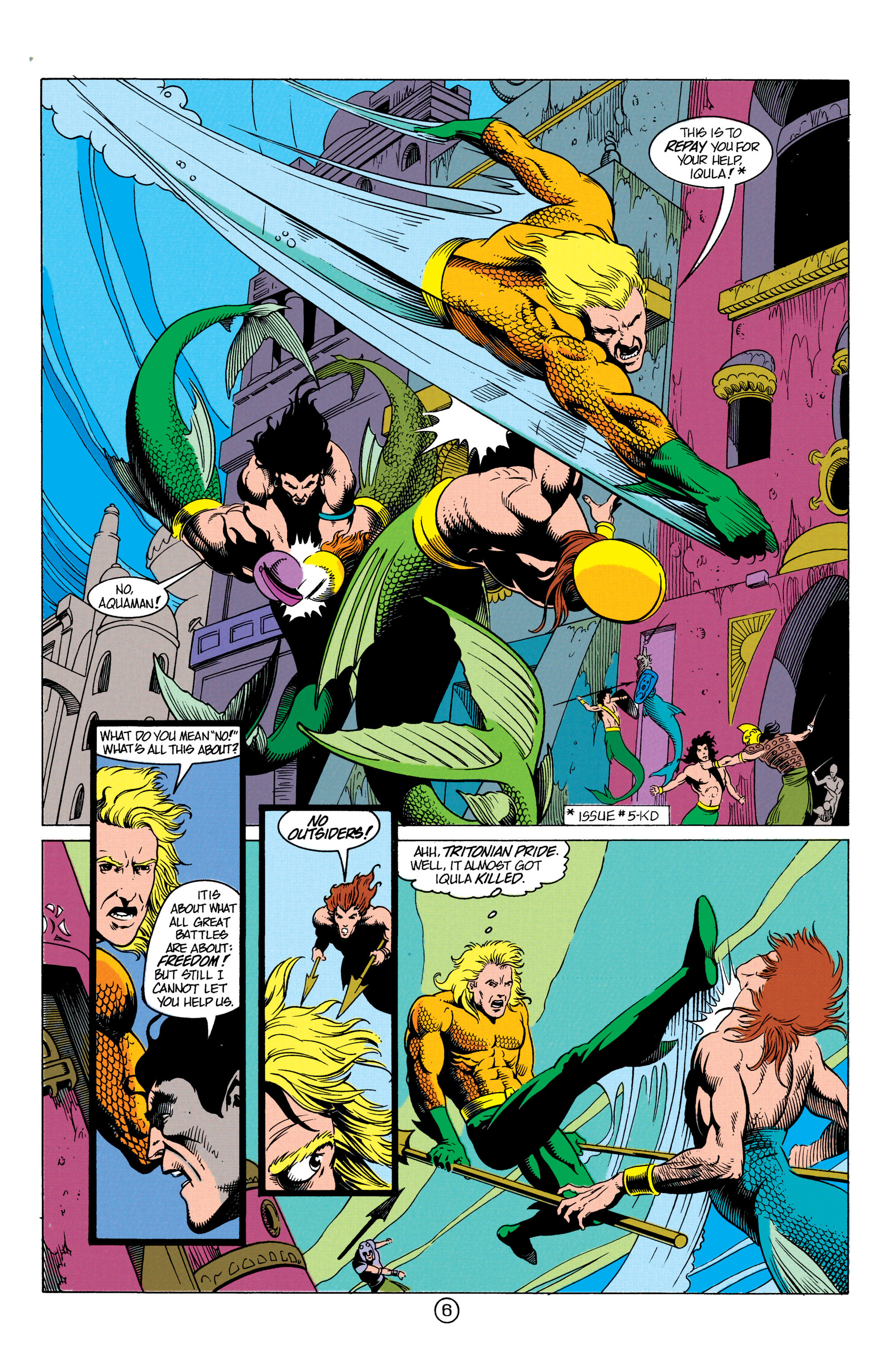 Read online Aquaman (1991) comic -  Issue #12 - 7