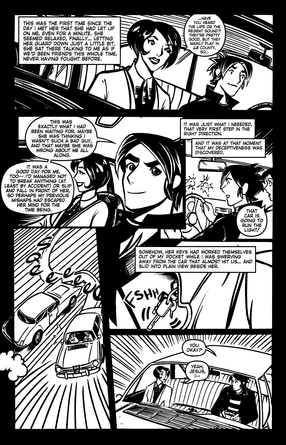 Read online Scooter Girl comic -  Issue #3 - 12