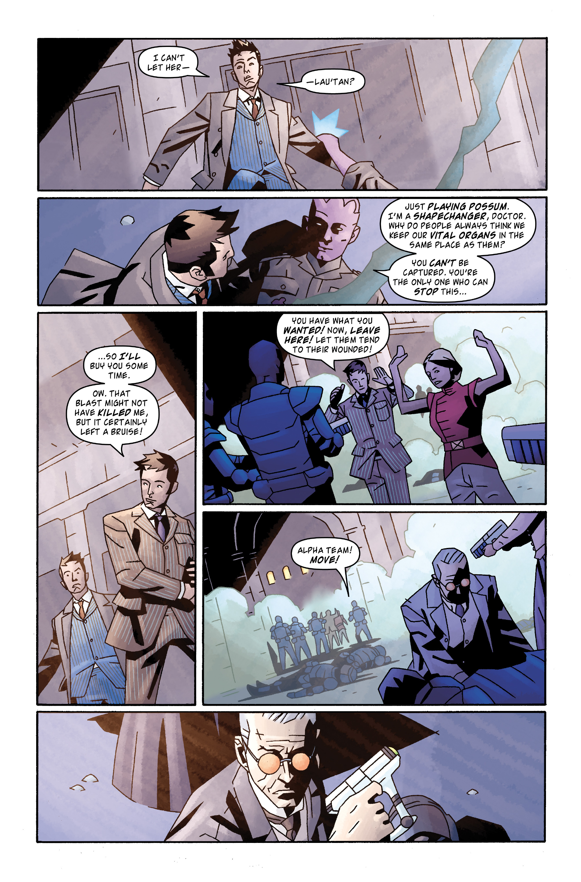 Read online Doctor Who: The Tenth Doctor Archives comic -  Issue #31 - 19