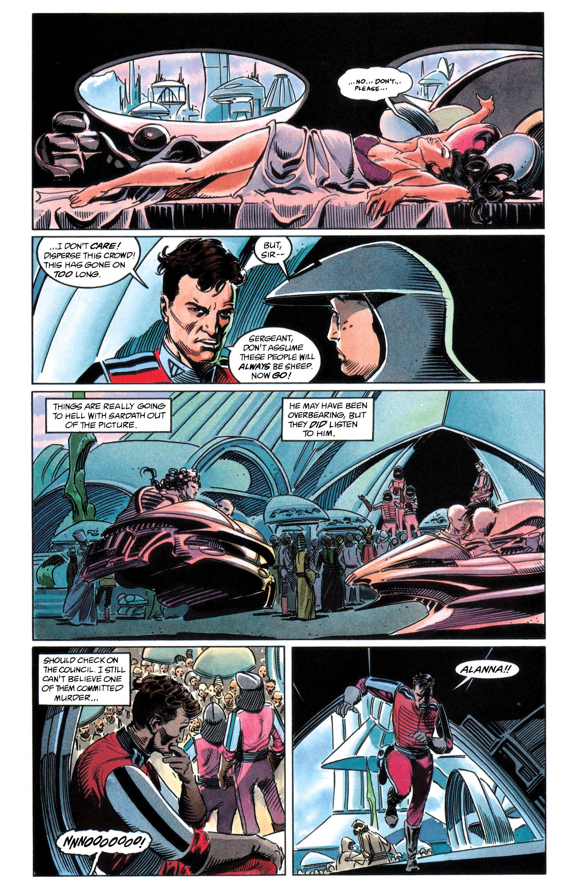 Read online Adam Strange (1990) comic -  Issue #2 - 38