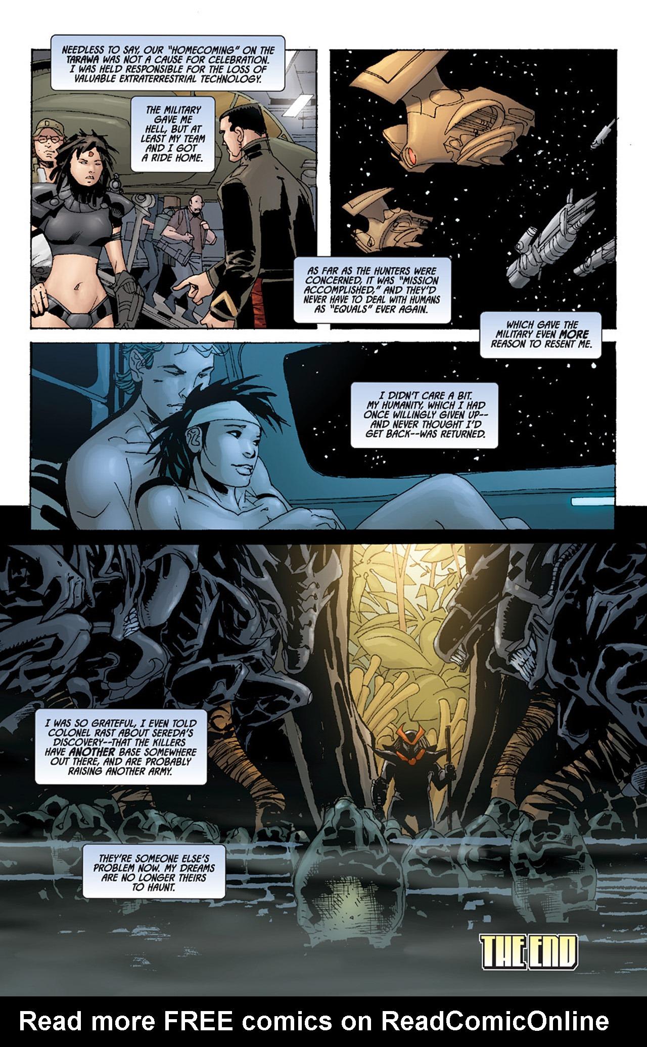 Read online Aliens vs. Predator: Three World War comic -  Issue #6 - 24
