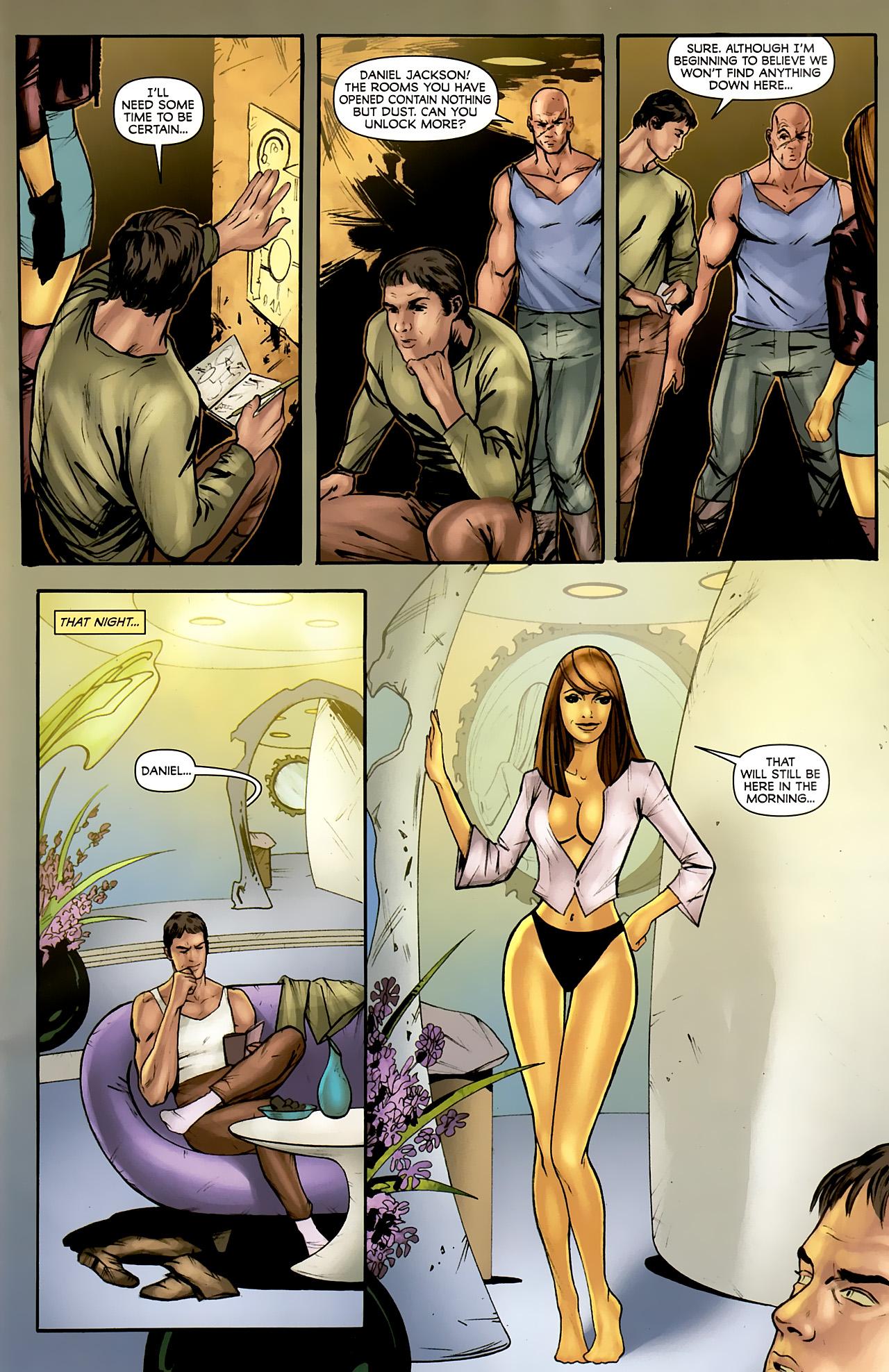 Read online Stargate: Daniel Jackson comic -  Issue #4 - 11