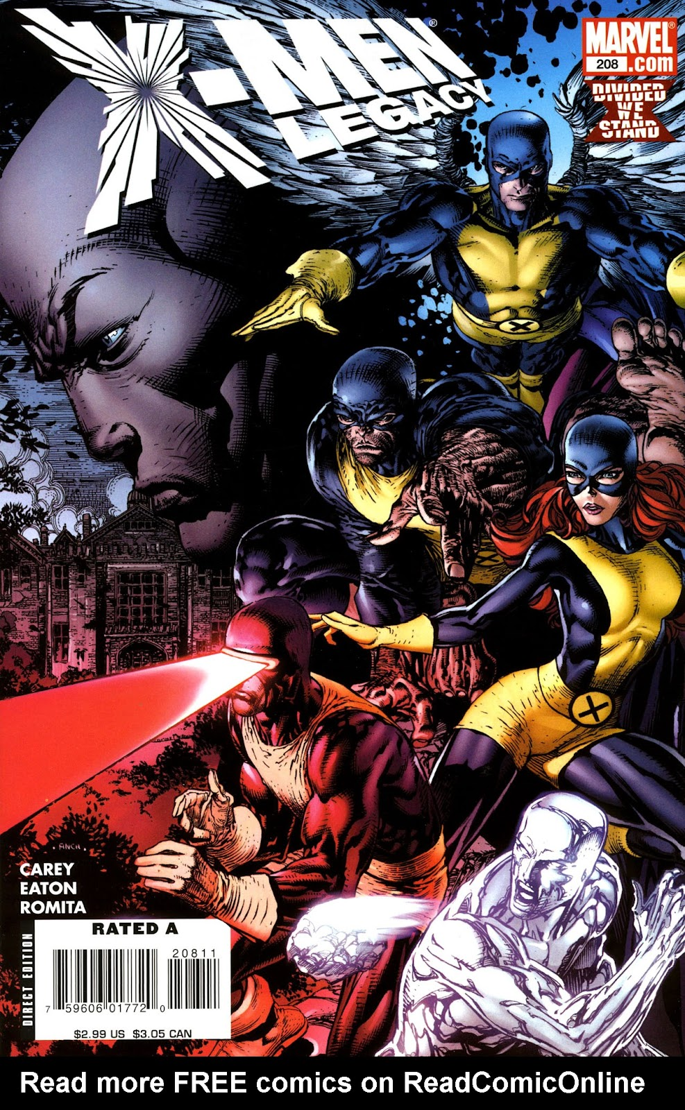 X-Men Legacy (2008) 208 Page 1