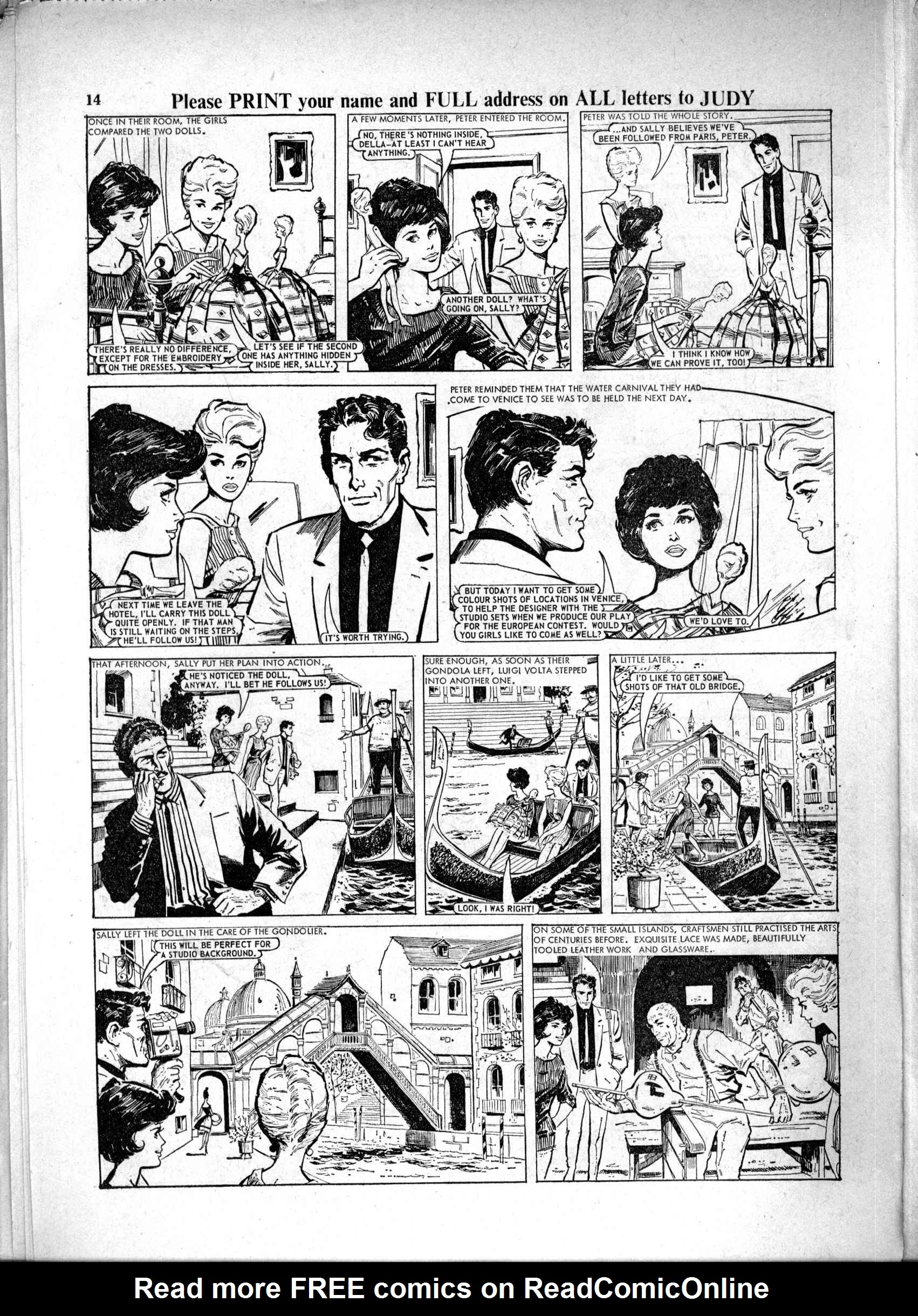 Read online Judy comic -  Issue #231 - 14