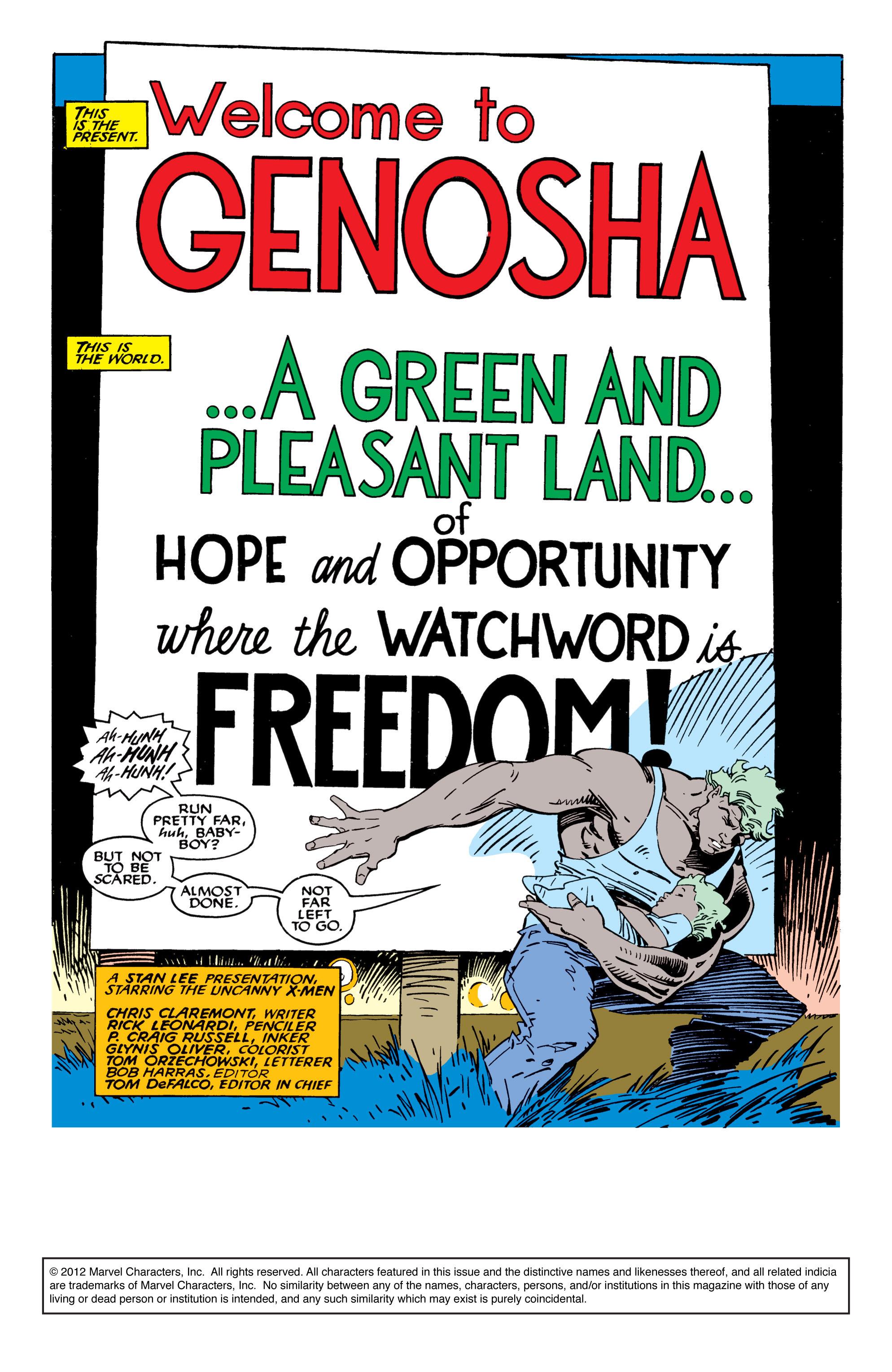 Read online Uncanny X-Men (1963) comic -  Issue #235 - 2