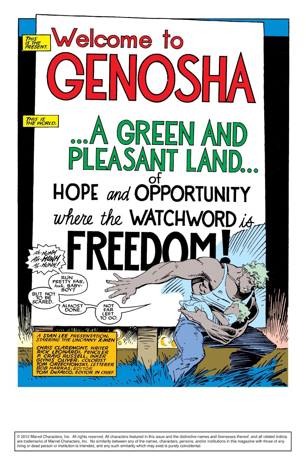 Uncanny X-Men (1963) issue 235 - Page 2