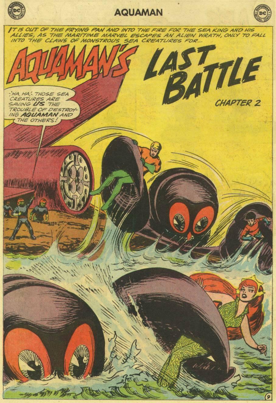 Read online Aquaman (1962) comic -  Issue #16 - 14