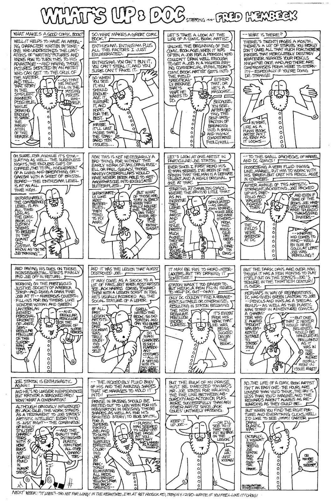 Read online The Nearly Complete Essential Hembeck Archives Omnibus comic -  Issue # TPB (Part 4) - 37