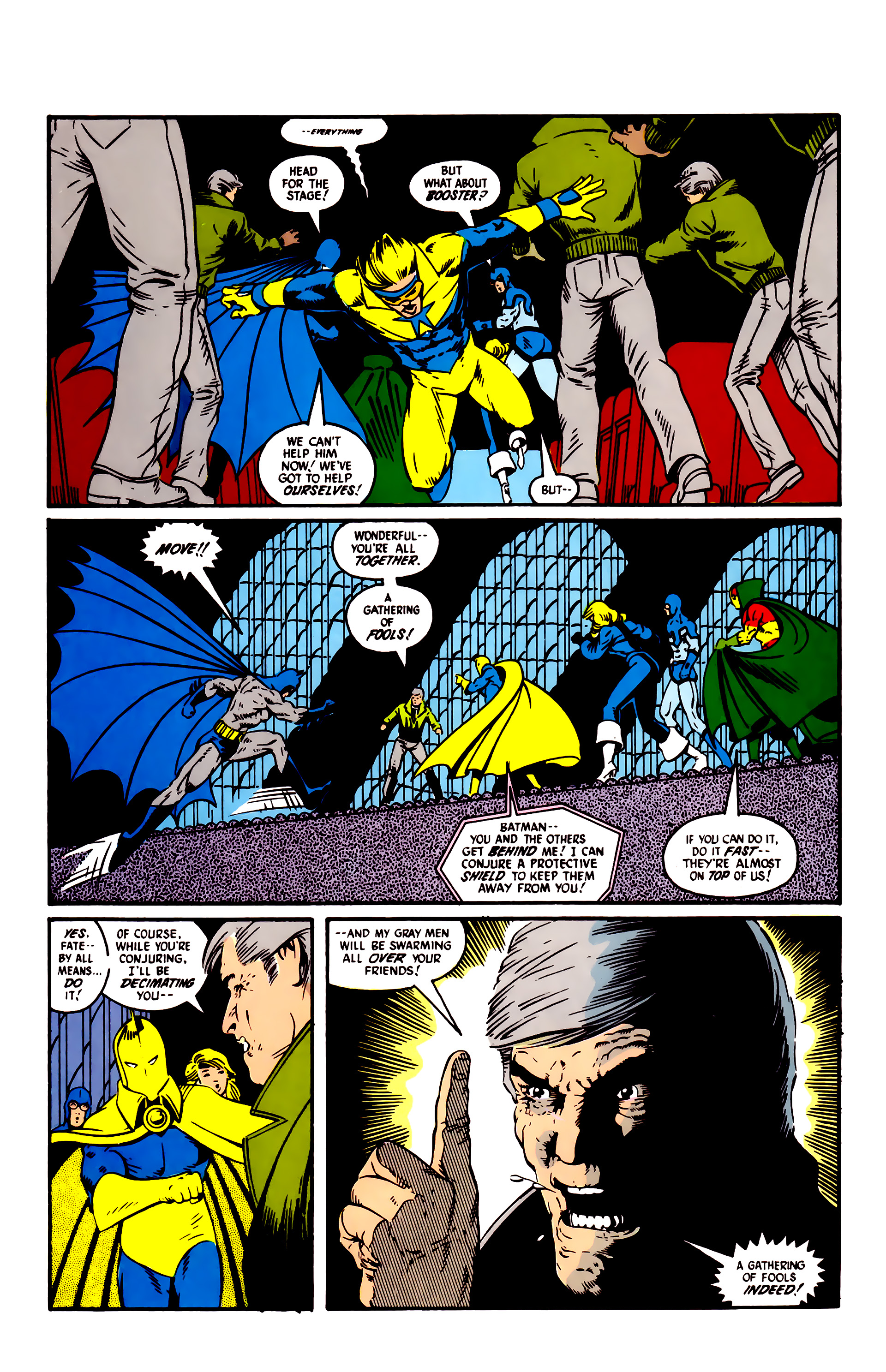 Read online Justice League (1987) comic -  Issue #6 - 18