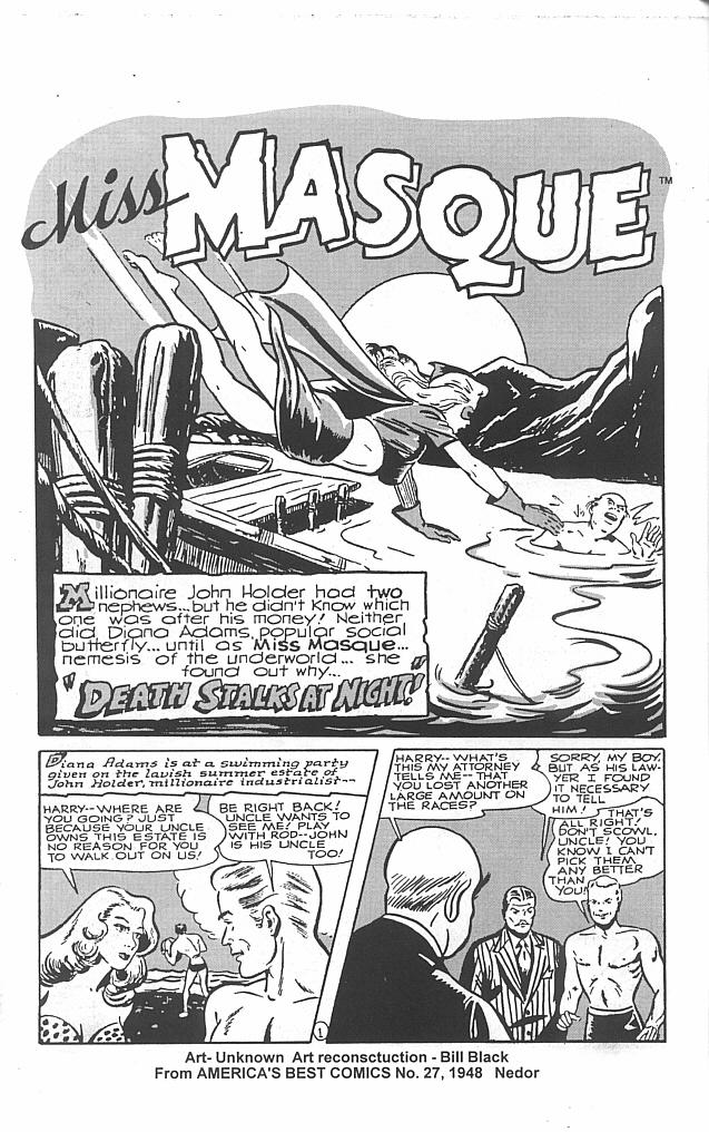 Read online Golden-Age Men of Mystery comic -  Issue #5 - 10