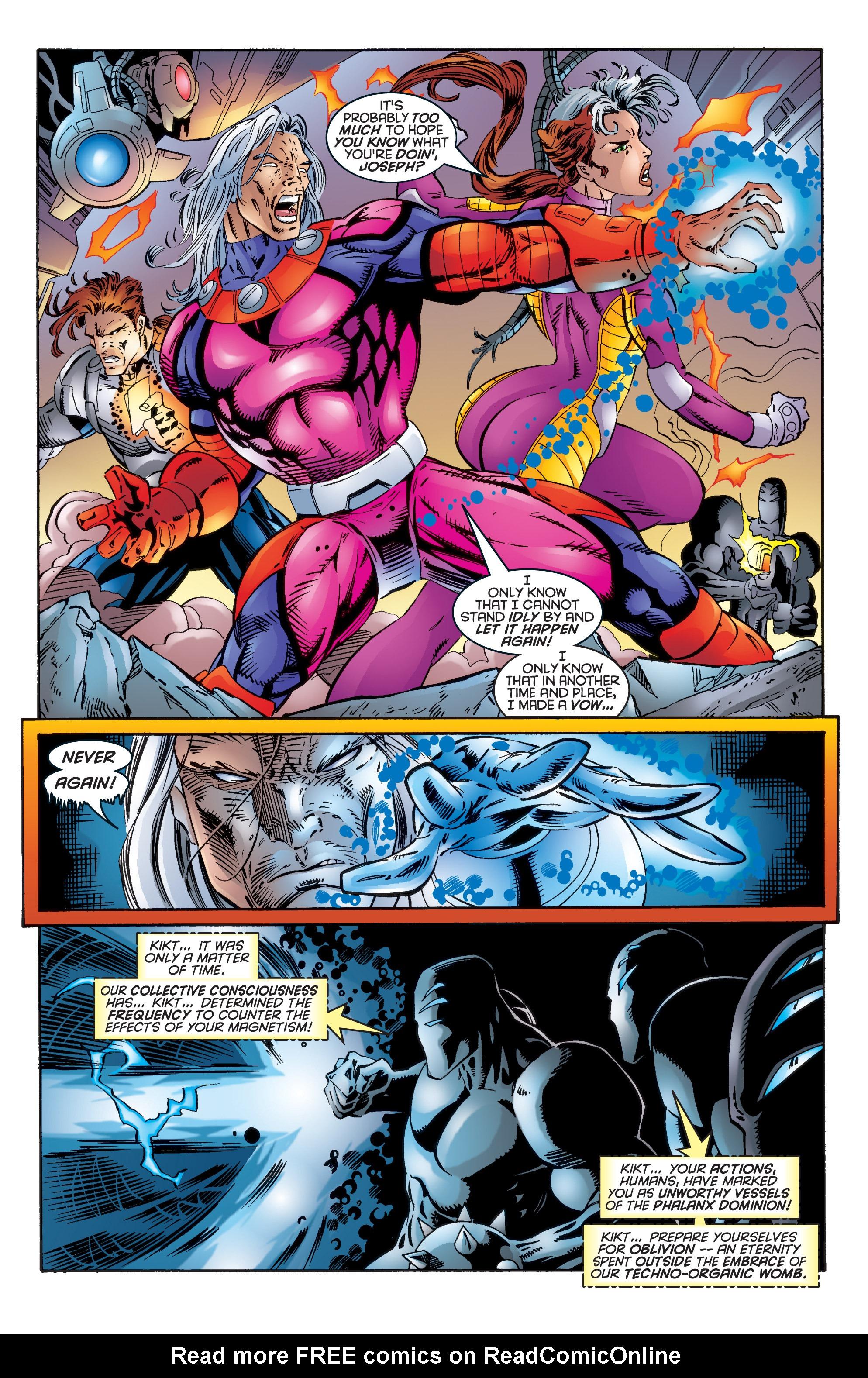 Read online Uncanny X-Men (1963) comic -  Issue #344 - 18