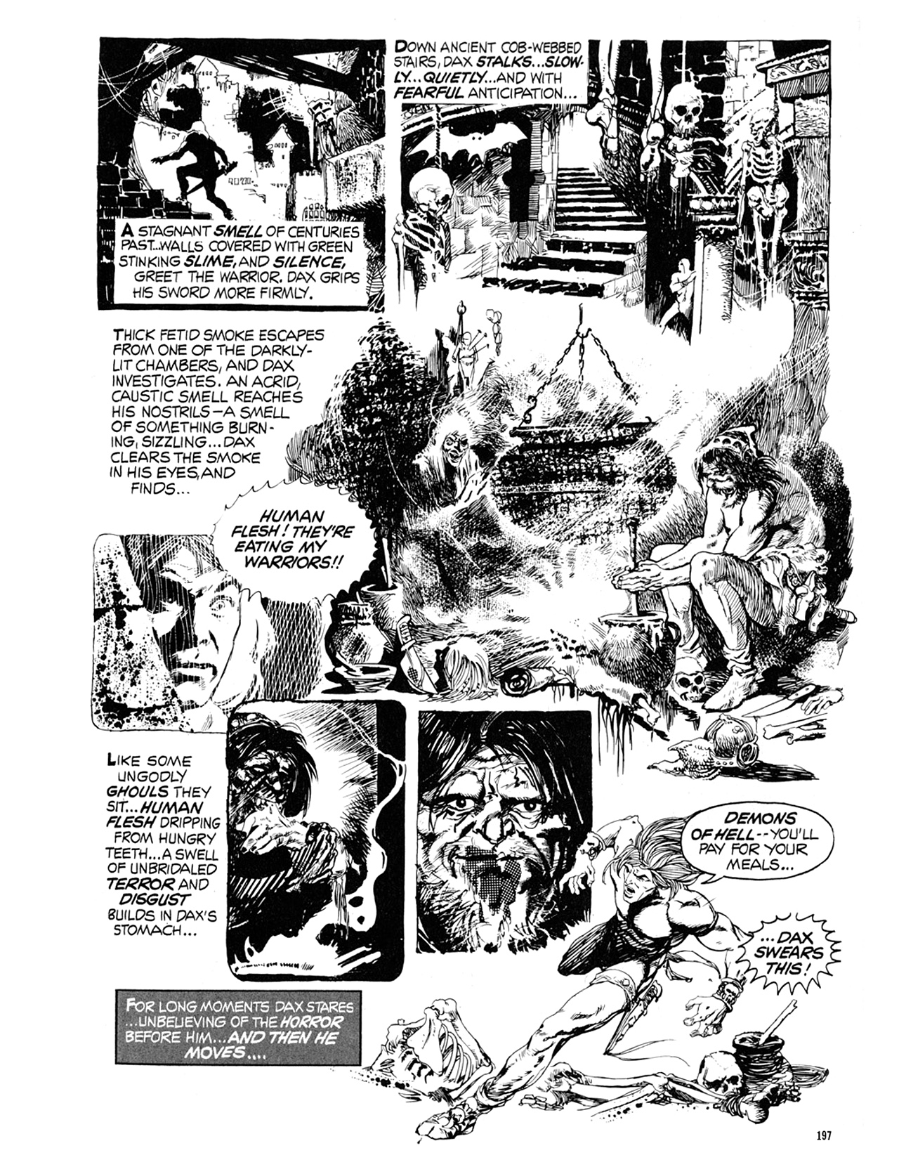 Read online Eerie Archives comic -  Issue # TPB 9 - 198
