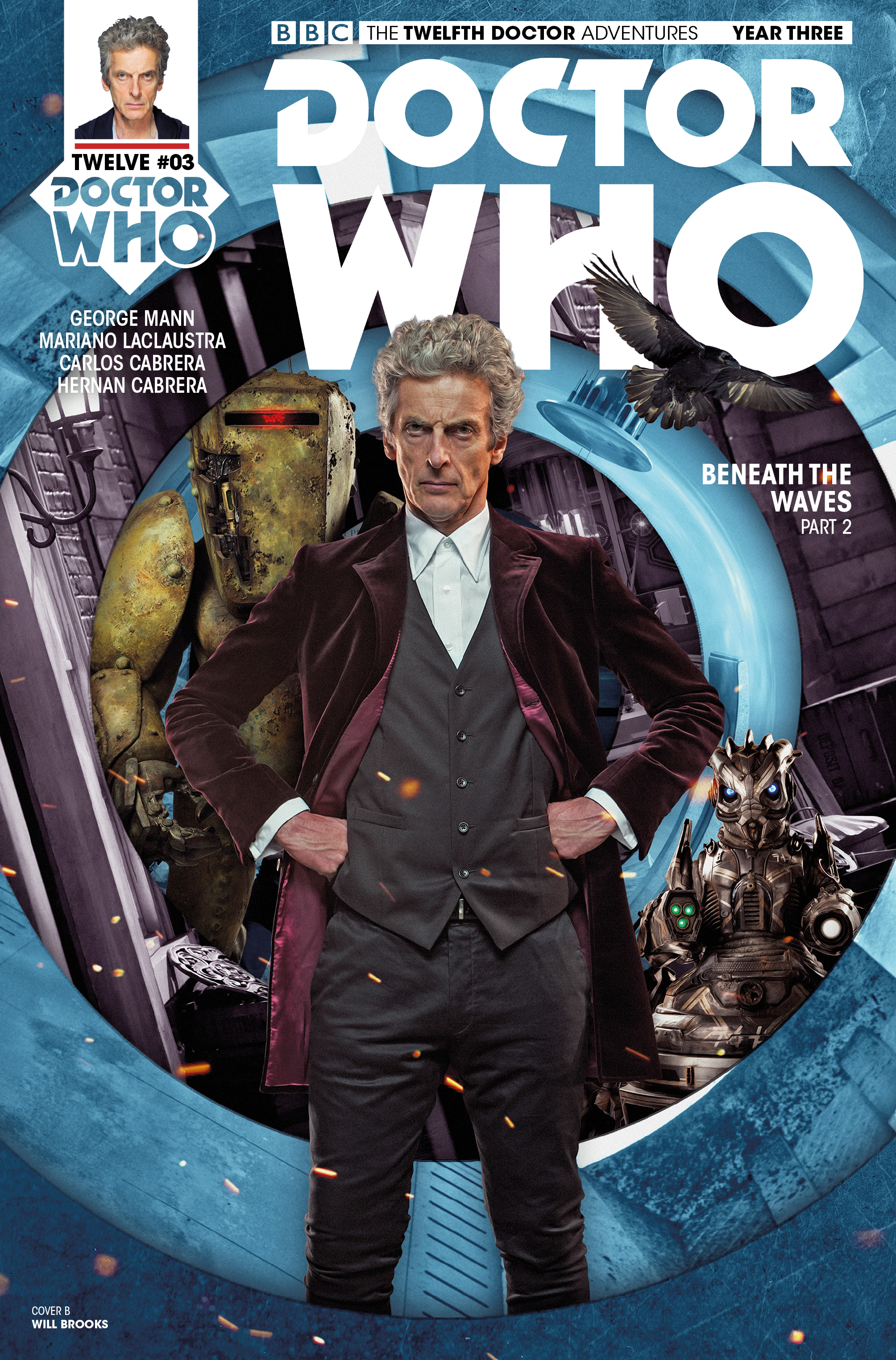 Read online Doctor Who: The Twelfth Doctor Year Three comic -  Issue #3 - 2