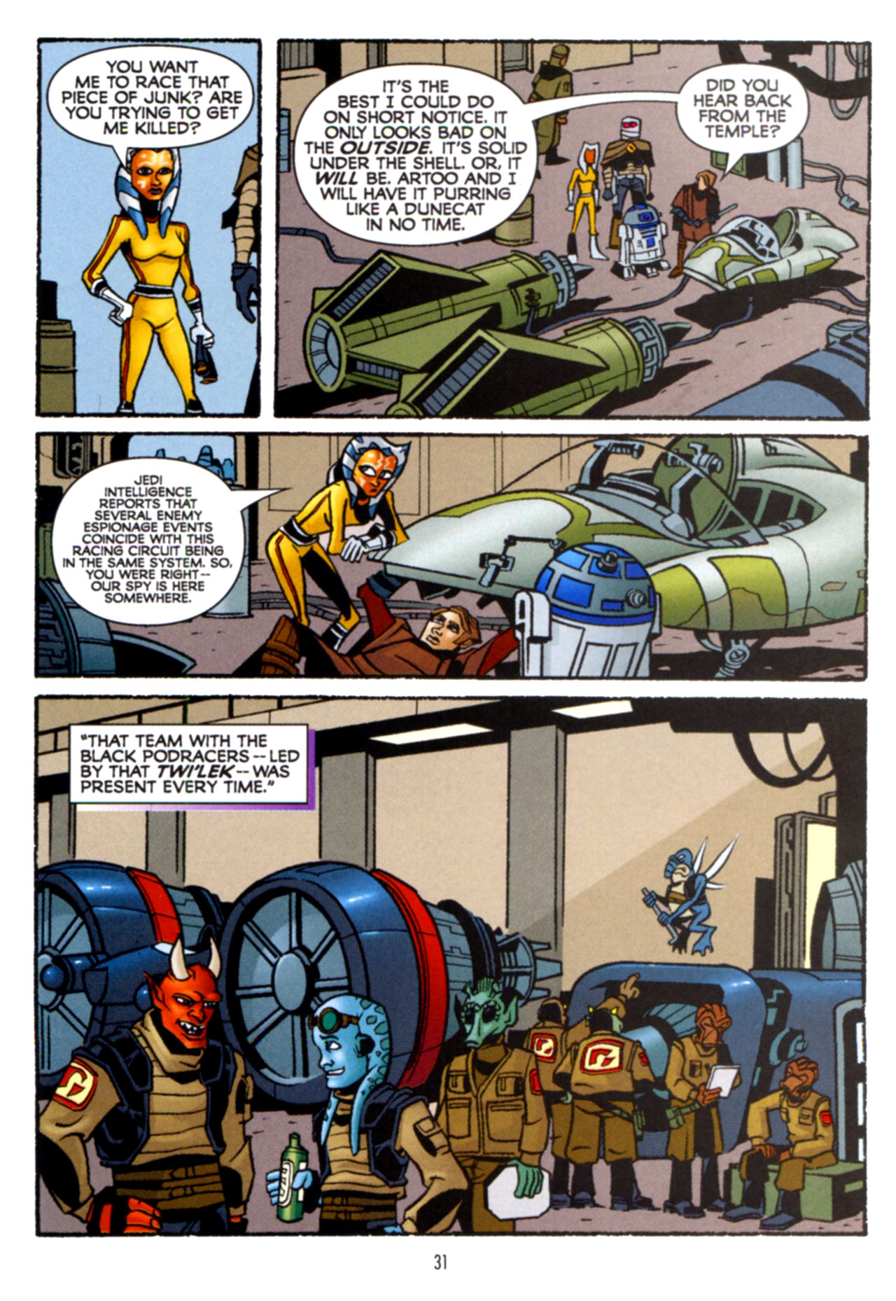Read online Star Wars: The Clone Wars - Crash Course comic -  Issue # Full - 32
