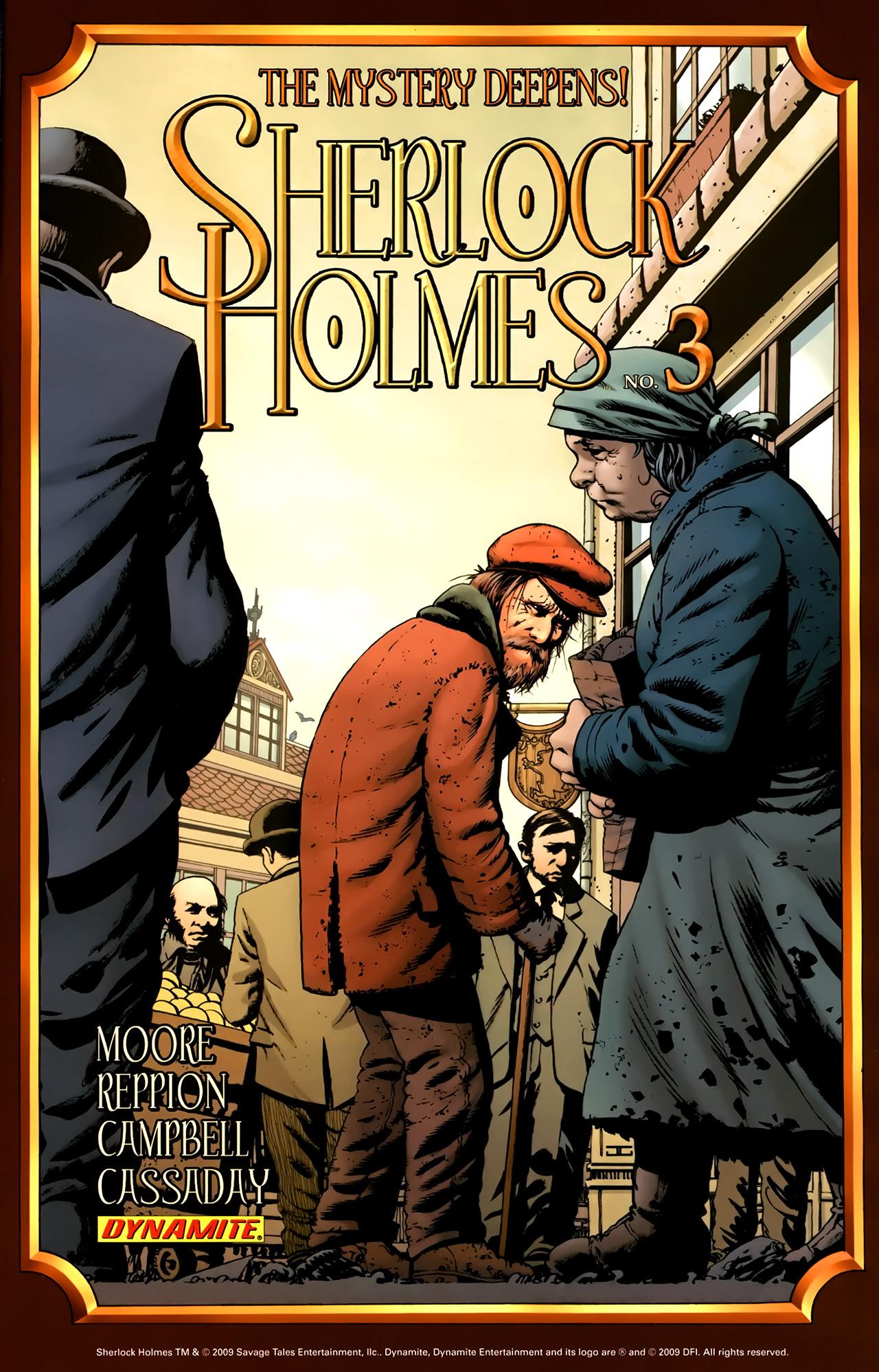 Read online Sherlock Holmes (2009) comic -  Issue #2 - 26