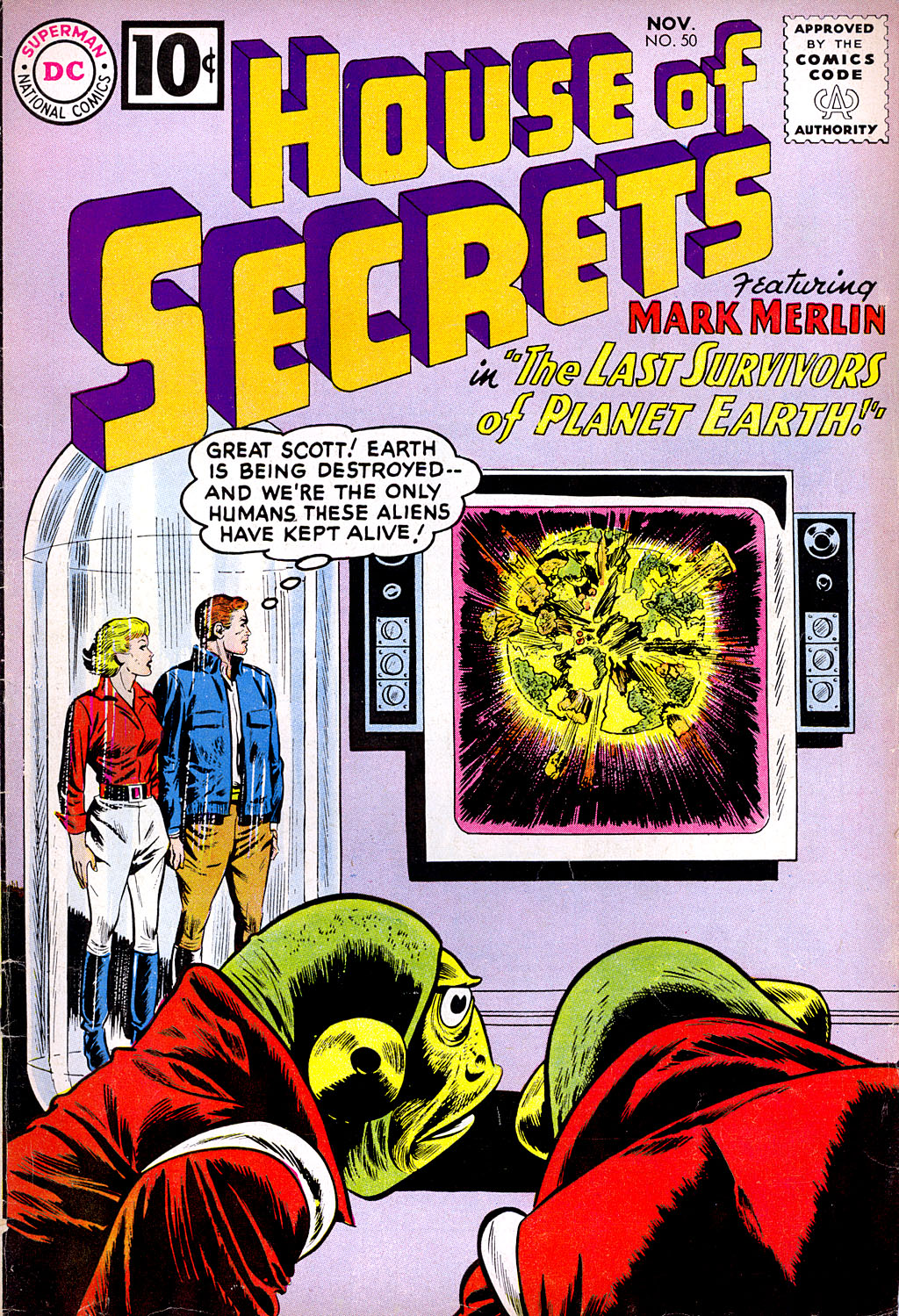 House of Secrets (1956) issue 50 - Page 1