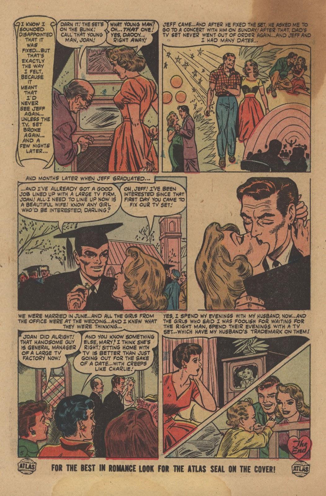 Love Romances (1949) issue 28 - Page 26