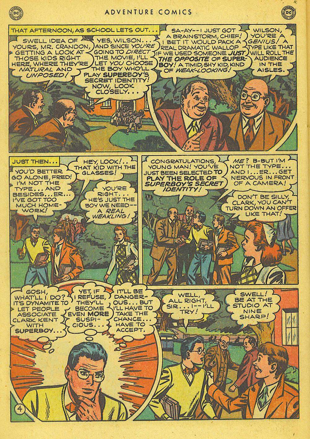 Read online Adventure Comics (1938) comic -  Issue #155 - 6