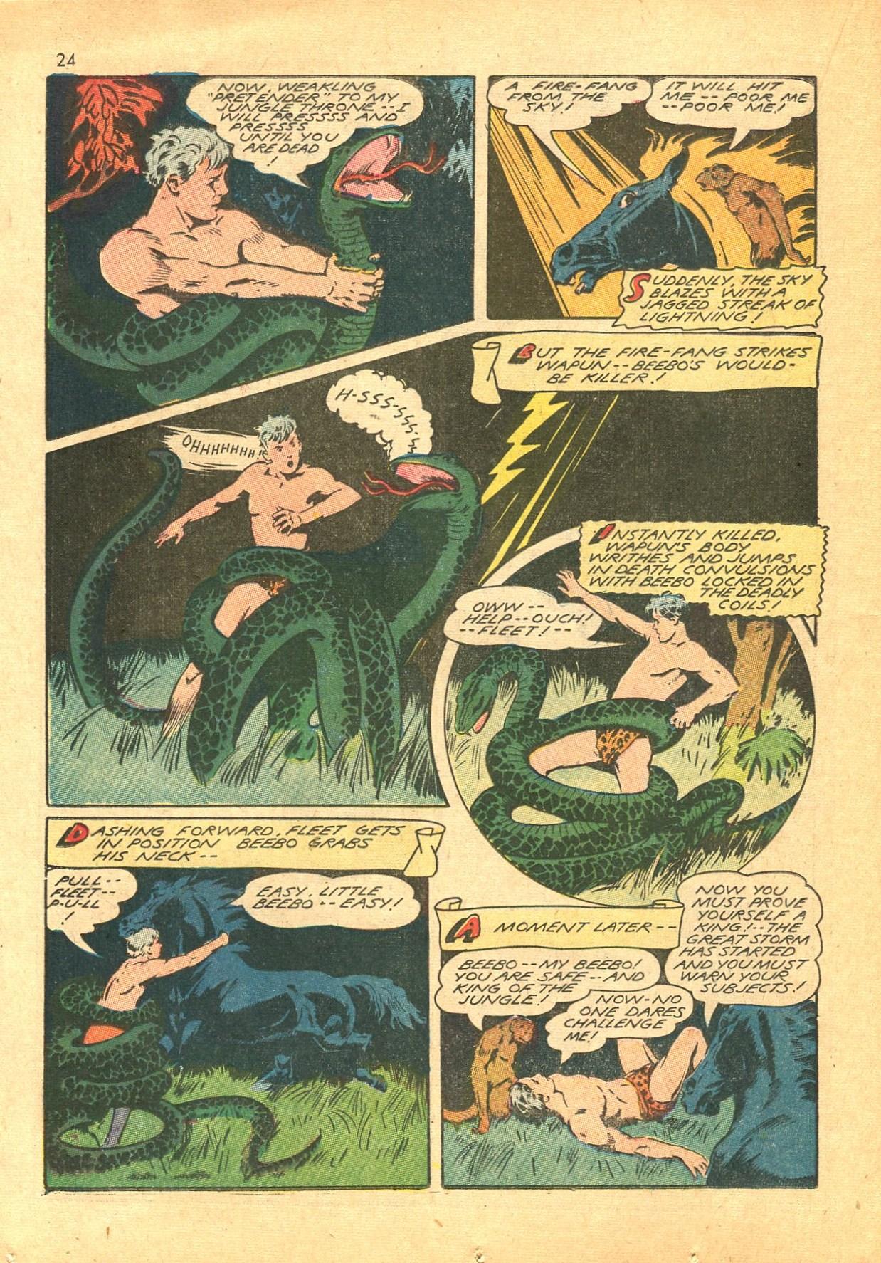 Read online Shadow Comics comic -  Issue #24 - 24