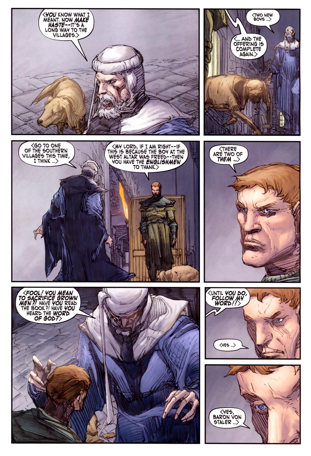 Read online Solomon Kane comic -  Issue #3 - 13