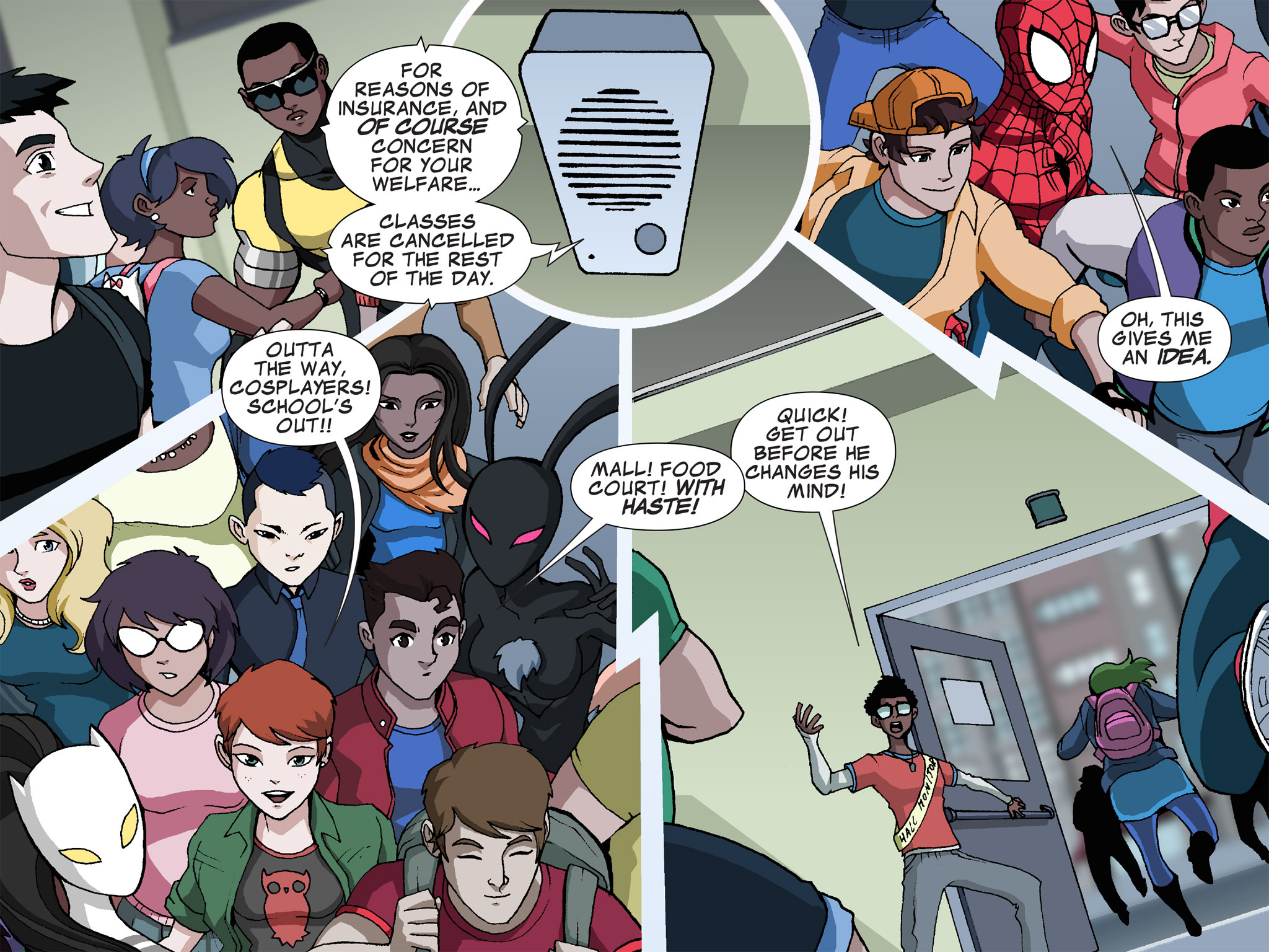 Read online Ultimate Spider-Man (Infinite Comics) (2015) comic -  Issue #23 - 13