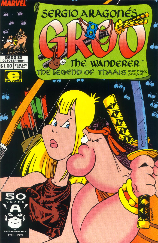 Read online Sergio Aragonés Groo the Wanderer comic -  Issue #82 - 1