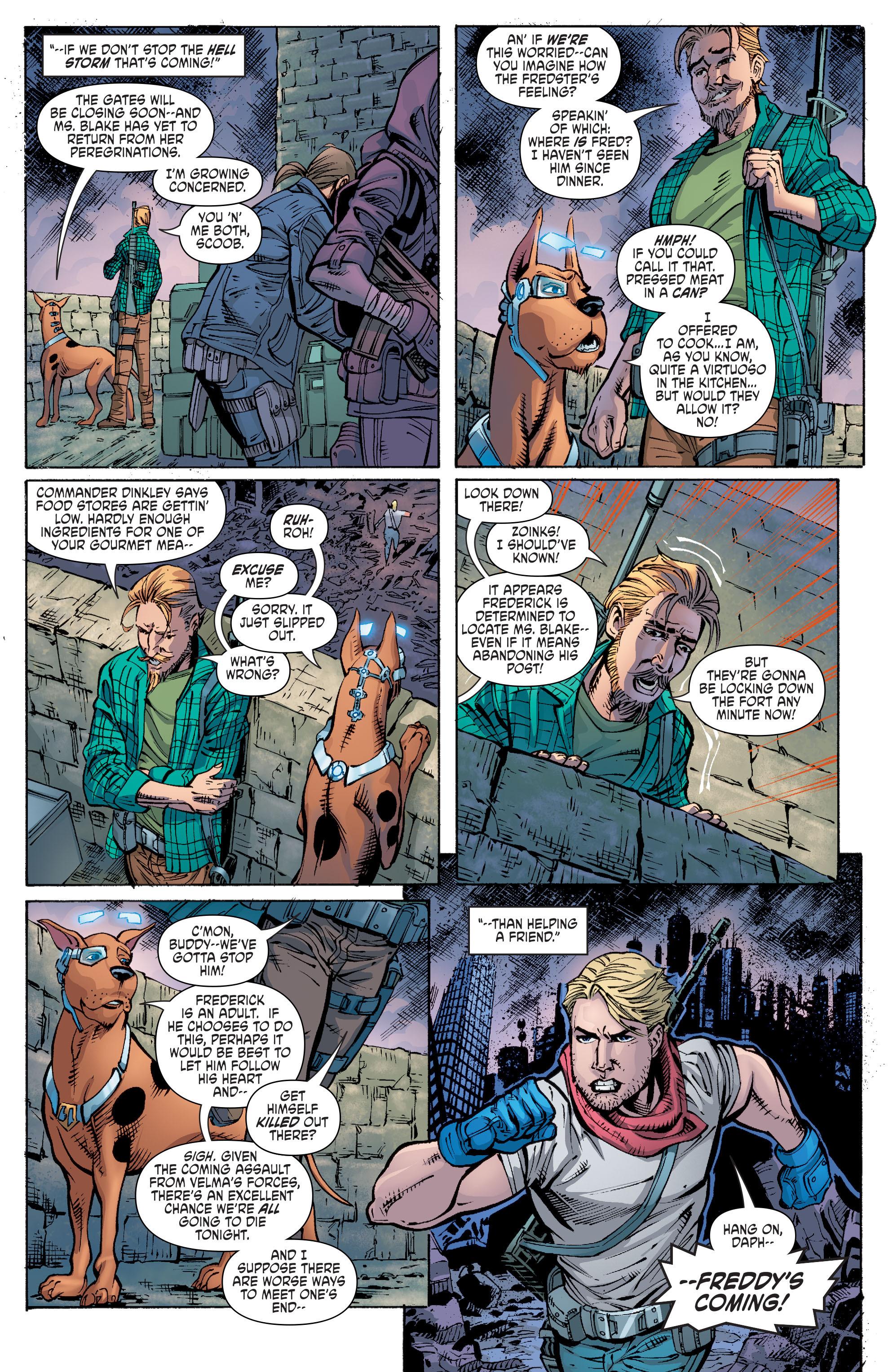 Read online Scooby Apocalypse comic -  Issue #10 - 12