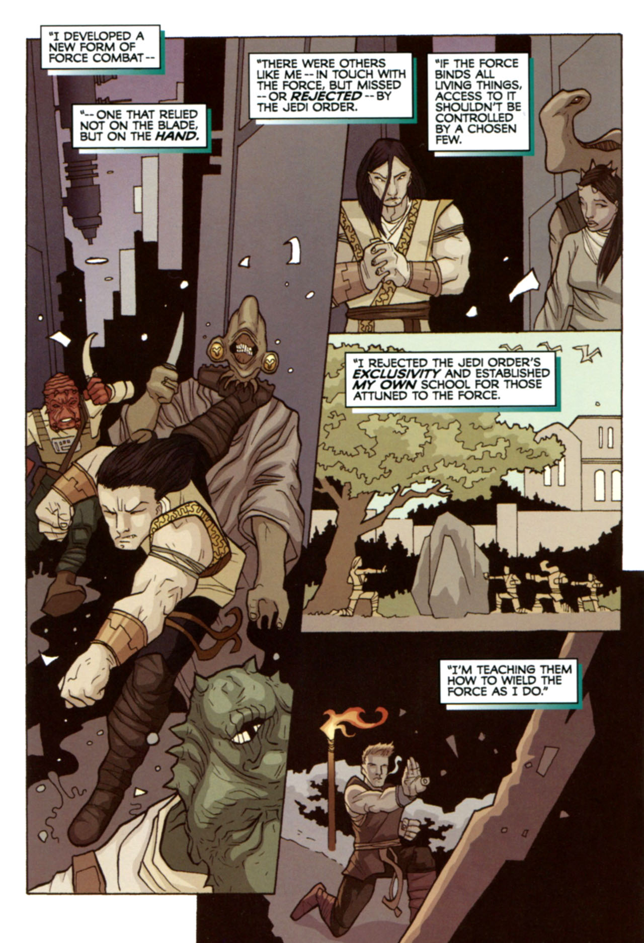 Read online Star Wars: The Clone Wars - Deadly Hands of Shon-Ju comic -  Issue # Full - 25