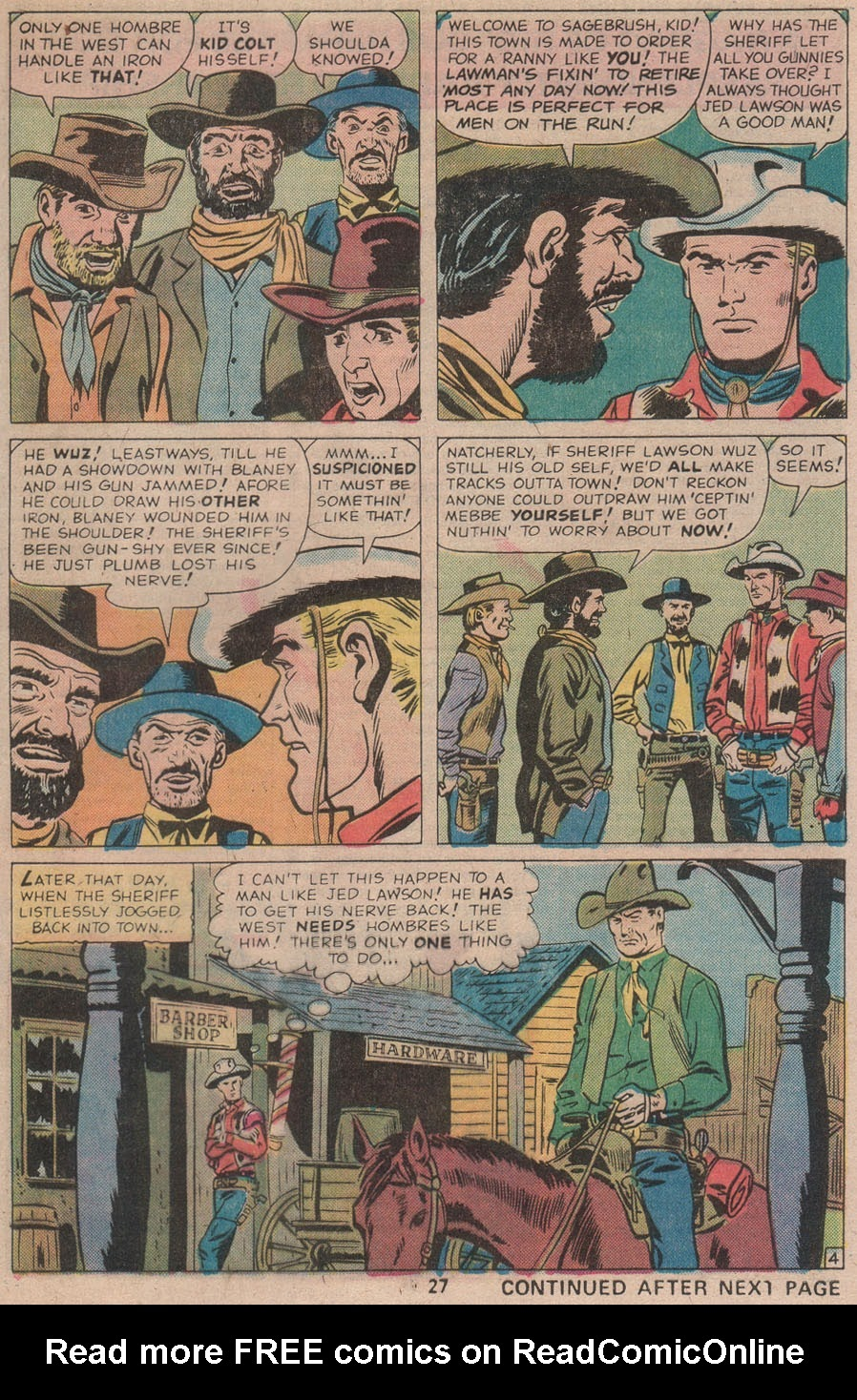 Kid Colt Outlaw issue 211 - Page 29