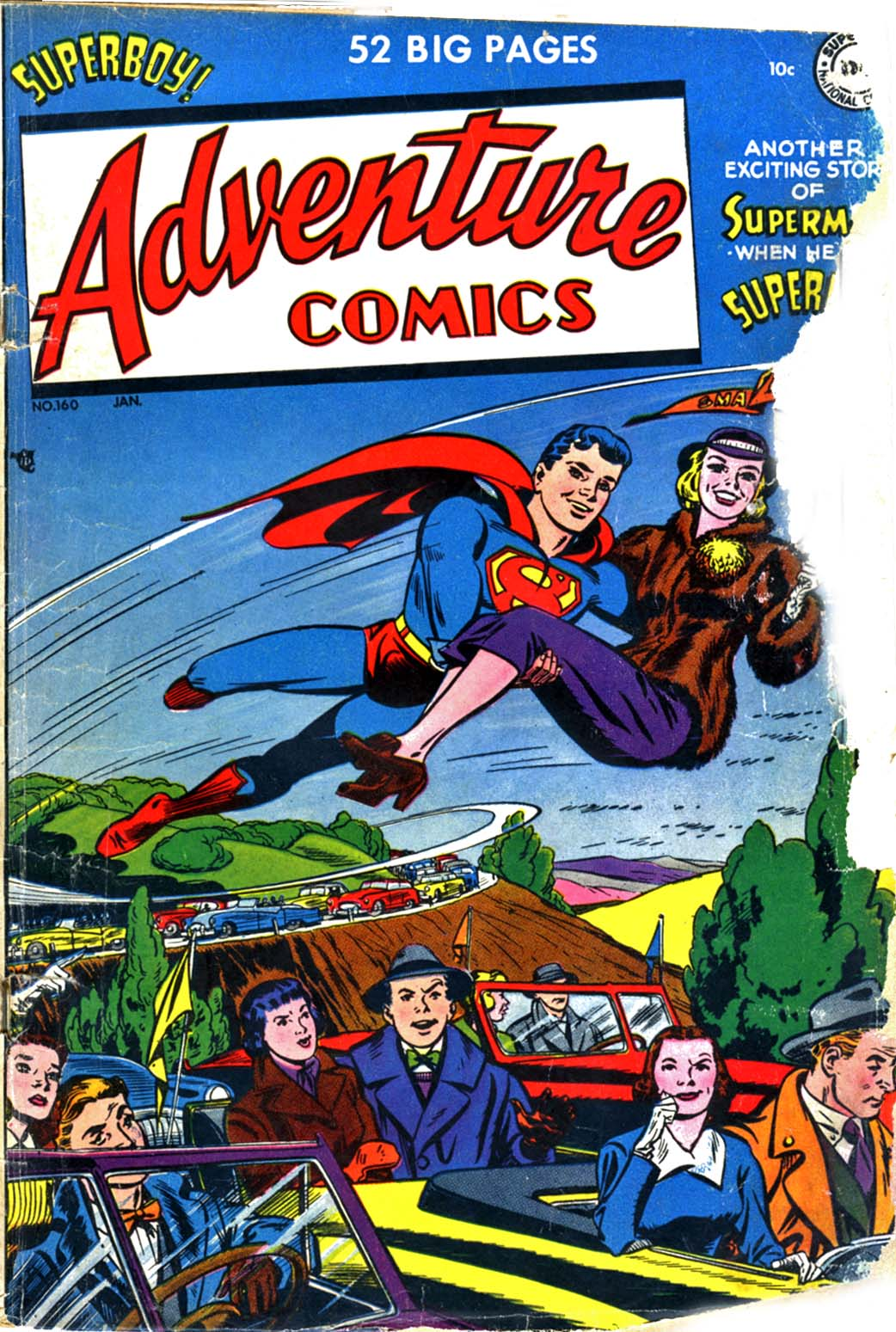 Read online Adventure Comics (1938) comic -  Issue #160 - 1