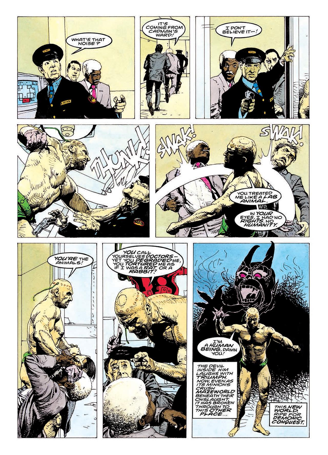 Read online Mazeworld comic -  Issue # TPB - 182