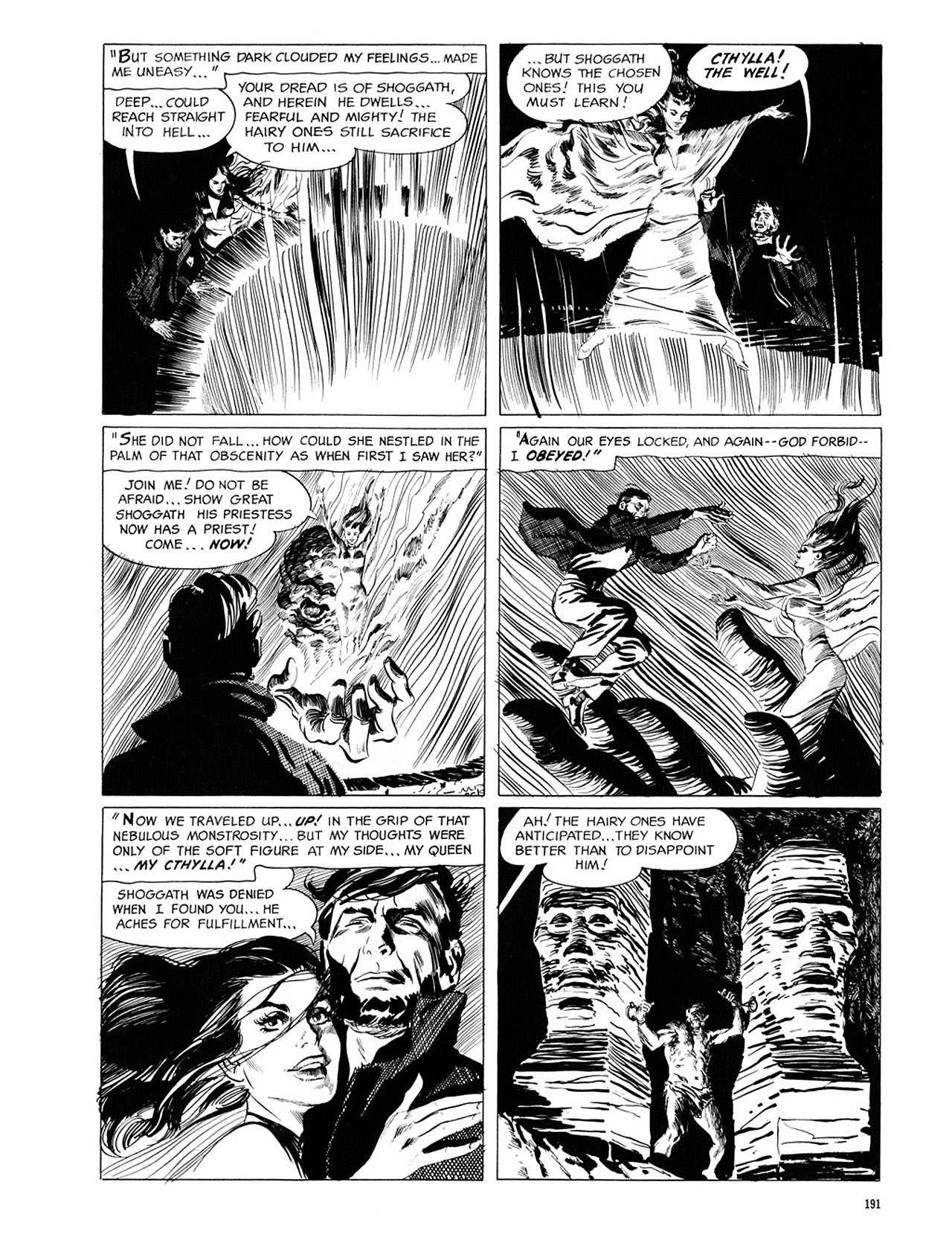 Read online Eerie Archives comic -  Issue # TPB 1 - 192