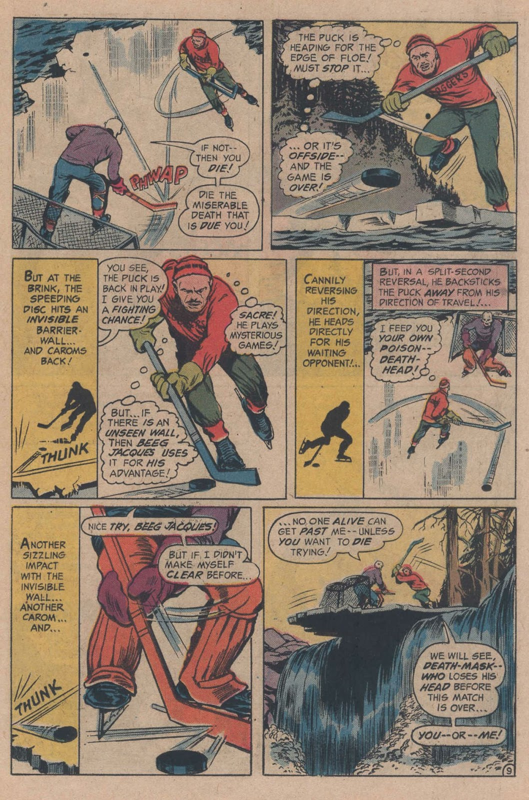 Read online Strange Sports Stories (1973) comic -  Issue #5 - 15