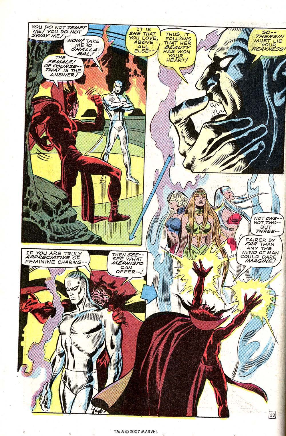Silver Surfer (1968) issue 3 - Page 36
